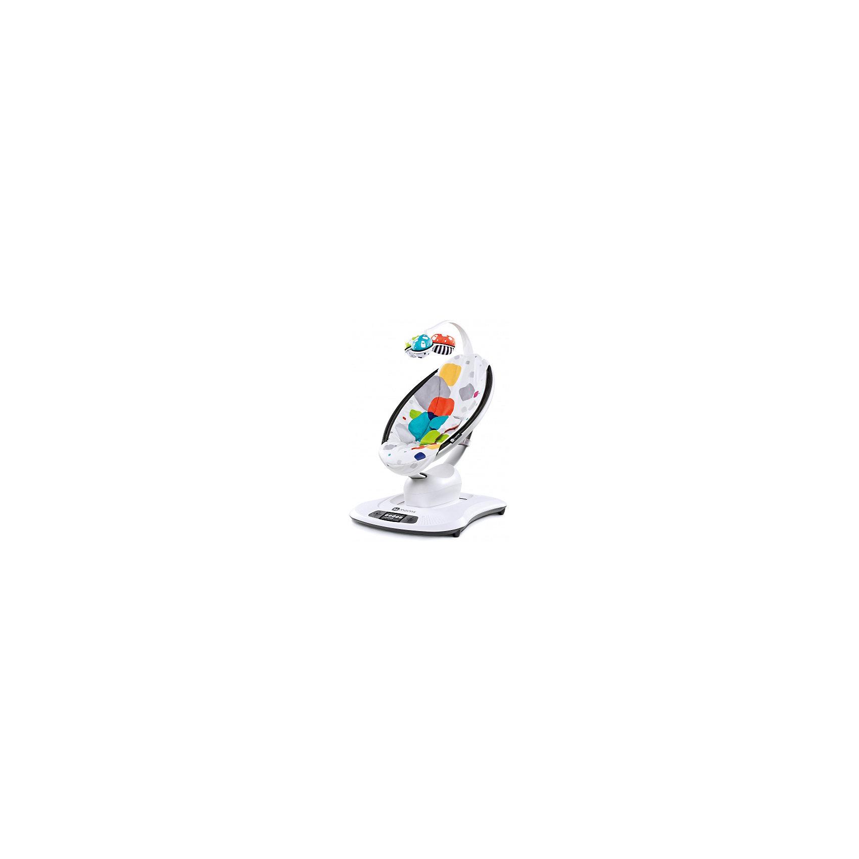 - Кресло-качалка Mamaroo 3.0, 4Moms, мультиплюш детские кроватки kitelli kito orsetto качалка