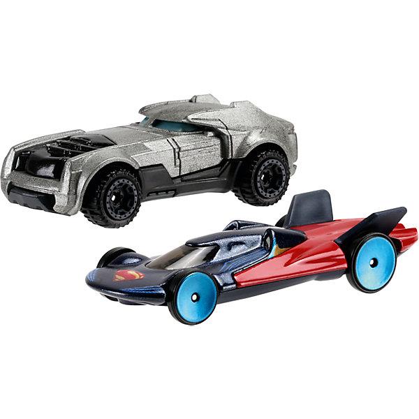 Машинки Бэтмен против Супермена, Hot WheelsПопулярные игрушки<br>Машинки Бэтмен против Супермена - это комплект из двух небольших машинок, принадлежащим главным героям нового фильма «Бэтмен против Супермена: На заре справедливости» Такой набор порадует любого мальчишку!<br>Машинки сделаны из качественных и безопасных для ребенка материалов. Одна - повторяет расцветкой костюм Бэтмена, вторая - Супермена.<br><br>Дополнительная информация:<br><br>цвет: разноцветный,<br>комплектация: 2 машинки.<br><br>Машинки Бэтмен против Супермена, 2 шт, Hot Wheels можно купить в нашем магазине.<br><br>Ширина мм: 200<br>Глубина мм: 165<br>Высота мм: 65<br>Вес г: 164<br>Возраст от месяцев: 36<br>Возраст до месяцев: 84<br>Пол: Мужской<br>Возраст: Детский<br>SKU: 4697984