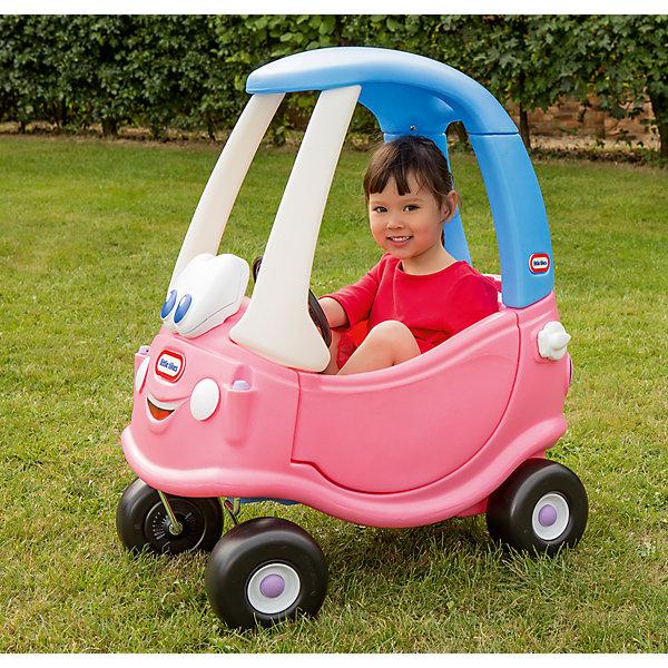 Каталка Машинка, розовая, Little TikesМашинки-каталки<br>Машинка-каталка нежно розового цвета от Little Tikes (Литл Тайкс) предназначена специально для маленьких принцесс. <br><br>Машинка имеет необычный дизайн: на передней панели изображена милая мордашка с большими добрыми глазами и очаровательной улыбкой. У него есть ручка, с помощью которой родители могут управлять транспортным средством, а когда он немного подрастет, то сможет кататься сам. В днище машинки находится отверстие для ног (его надо открыть, сняв панель с пола), благодаря чему ребенок может приводить ее в движение с помощью ног. Это дает малышу необходимые для благотворного развития физические нагрузки.  При изготовлении каталки применяется метод центробежного литья, что позволяет сделать ее ударопрочной и устойчивой к перепадам температур (до -18С).  <br><br>Дополнительная информация:  <br><br>Размеры каталки 40.6 x 77.5 x 82.5 см (длина, ширина, высота).<br>Вес: 8,48 кг.<br><br>Каталку Машинка, розовая, Little Tikes можно купить в нашем интернет-магазине.<br><br>Ширина мм: 483<br>Глубина мм: 445<br>Высота мм: 1067<br>Вес г: 5900<br>Возраст от месяцев: 24<br>Возраст до месяцев: 60<br>Пол: Женский<br>Возраст: Детский<br>SKU: 4698047