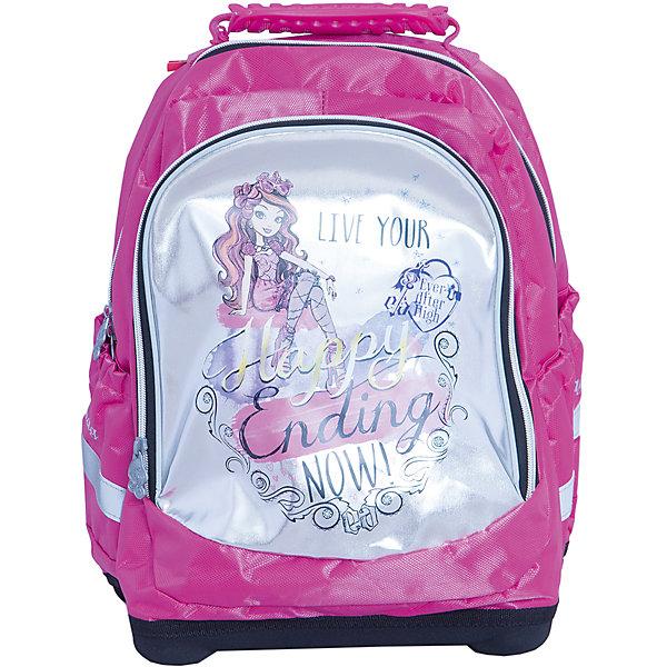 Ортопедический рюкзак Nice bag, Ever After HighEver After High<br>Ортопедический рюкзак Nice bag, Ever After High (Долго и счастливо) – этот удобный рюкзак станет незаменимым спутником вашего ребенка.<br>Ортопедический рюкзак Nice bag, Ever After High (Долго и счастливо) - это более мягкий, по сравнению с ранцем, эргономичный текстильный школьный рюкзак, обладающий оригинальным дизайном и большой вместительностью. Благодаря уплотненной вентилируемой спинке позвоночник ребенка не будет испытывать больших нагрузок во время эксплуатации рюкзака. Широкие уплотненные регулируемые лямки позволяют адаптировать рюкзак к изменению роста ребенка. Рюкзак имеет два отделения, закрывающиеся на застежки-молнии, боковые карманы. Жесткое дно оборудовано ножками для защиты от загрязнений. Предусмотрена удобная ручка для переноски. Светоотражающие полосы сделают ребенка заметным на проезжей части в темное время суток и в сумерках.<br><br>Дополнительная информация:<br><br>- Размер упаковки: 18х38х31 см.<br>- Вес в упаковке: 750 гр.<br><br>Ортопедический рюкзак Nice bag, Ever After High (Долго и счастливо) можно купить в нашем интернет-магазине.<br>Ширина мм: 180; Глубина мм: 380; Высота мм: 310; Вес г: 750; Возраст от месяцев: 72; Возраст до месяцев: 96; Пол: Женский; Возраст: Детский; SKU: 4700023;