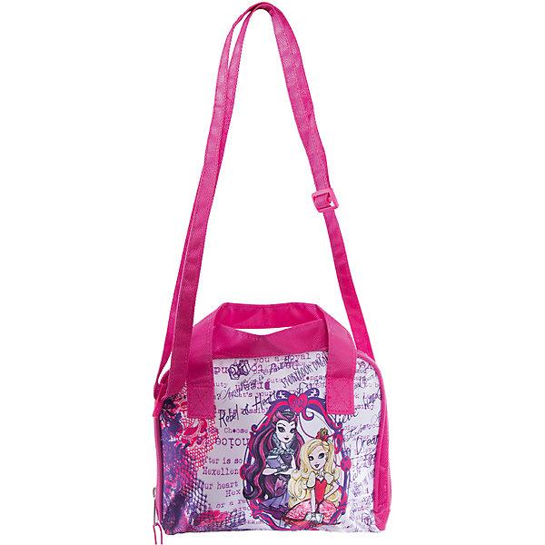 Сумка Сase bag, Ever After HighШкольные сумки<br>Сумка Сase bag, Ever After High (Долго и счастливо) - это стильная сумочка, с которой Вашей девочке будет приятно ходить и на занятия, и на прогулку.<br>Любишь Эвер Афтер Хай и хочешь выделиться из толпы? Тогда тебе обязательно потребуется уникальная сумка в стиле Афтер Хай. Стильная сумка, изготовленная из высококачественных материалов, прочная и готовая прослужить долгое время уже ждет свою хозяйку! Сумка украшена изображениями очаровательных героинь популярного мультсериала Ever After High (Долго и счастливо) (Школа Долго и Счастливо). Сумочка закрывается на застежку-молнию и имеет две удобные ручки. Предусмотрен ремешок для ношения через плечо.<br><br>Дополнительная информация:<br><br>- Размер упаковки: 23х2,5х18,5 см.<br>- Вес в упаковке: 152 гр.<br><br>Сумку Сase bag, Ever After High (Долго и счастливо) можно купить в нашем интернет-магазине.<br>Ширина мм: 230; Глубина мм: 25; Высота мм: 185; Вес г: 152; Возраст от месяцев: 48; Возраст до месяцев: 96; Пол: Женский; Возраст: Детский; SKU: 4700029;