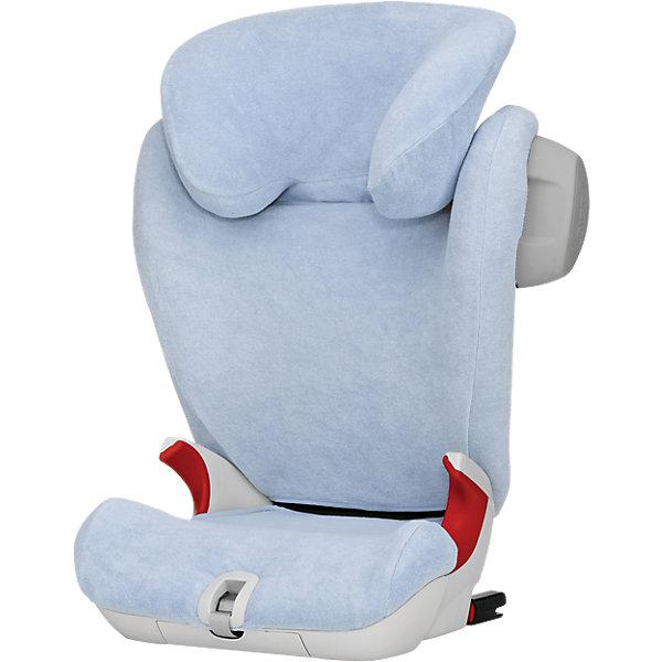 Летний чехол для автокресла KID II, KIDFIX SL, Britax Roemer, BlueАксессуары для автокресел<br>Летний чехол для автокресла KID II, KIDFIX SL - идеальный вариант для перевозки детей в жаркую погоду. Чехол предохранит кресло от загрязнений, благодаря светлой расцветке он меньше нагревается. Выполнен из мягкого, приятного на ощупь гипоаллергенного материала. <br><br>Дополнительная информация:<br><br>- Материал: 80% хлопок, 20% полиэстер.<br>- Мягкая, приятная на ощупь ткань. <br>- Отлично поглощает влагу. <br>- Стирка при 60 ?.<br><br>Летний чехол для автокресла KID II, KIDFIX SL, Britax Romer (Бритакс Ремер), Blue, можно купить в нашем магазине.<br>Ширина мм: 259; Глубина мм: 192; Высота мм: 68; Вес г: 327; Цвет: синий; Возраст от месяцев: 36; Возраст до месяцев: 144; Пол: Унисекс; Возраст: Детский; SKU: 4700731;