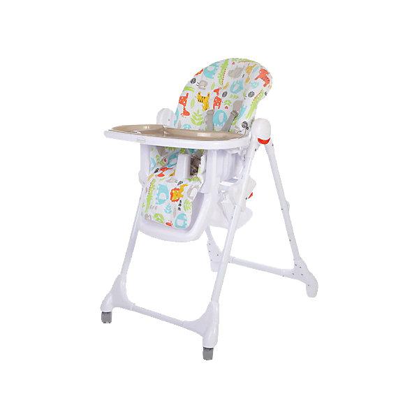 Стульчик для кормления Fiesta, Baby Care, серыйСтульчики для кормления<br>Характеристики детского стульчика для кормления Baby Care Fiesta:<br><br>• регулируемая высота сиденья: 6 уровней;<br>• регулируемый наклон спинки: 3 положения;<br>• регулируемая глубина столешницы: 3 положения;<br>• пластиковая нерегулируемая подножка;<br>• наличие 5-ти точечных ремней безопасности;<br>• пластиковый ограничитель, защита от соскальзывания;<br>• съемная дополнительная столешница, с бортиками и подстаканником, прозрачный пластик;<br>• столик перед ребенком можно снять и убрать;<br>• мягкий чехол, съемный, стирается при температуре 30 градусов;<br>• на задней панели находится сумка-сетка для игрушек;<br>• рама стульчика оснащена колесиками, на передней оси, и стопорами, на задней оси;<br>• компактно складывается, устойчиво стоит в сложенном виде;<br>• материал: алюминий, пластик, полиэстер. <br><br>Пластиковый стульчик Fiesta Baby Care используется от полугода до 6 лет, в зависимости от возраста и роста малыша регулируется высота стульчика, угол наклона спинки, глубина столешницы, наличие/отсутствие столика перед ребенком. Стульчик компактно складывается, не занимает много места в сложенном виде. <br><br>Размеры стульчика Fiesta:<br><br>Размер стульчика в разложенном состоянии: 61х85х100 см<br>Размер стульчика в сложенном состоянии: 61х36х119 см<br>Ширина сиденья: 29,5 см<br>Вес стульчика: 8,2 кг<br>Размер упаковки: 60х32х55 см;<br>Вес в упаковке: 10,5 кг<br><br>Стульчик для кормления Fiesta, Baby Care, серый можно купить в нашем интернет-магазине.<br>Ширина мм: 750; Глубина мм: 510; Высота мм: 190; Вес г: 9200; Цвет: серый; Возраст от месяцев: 6; Возраст до месяцев: 72; Пол: Унисекс; Возраст: Детский; SKU: 4700998;