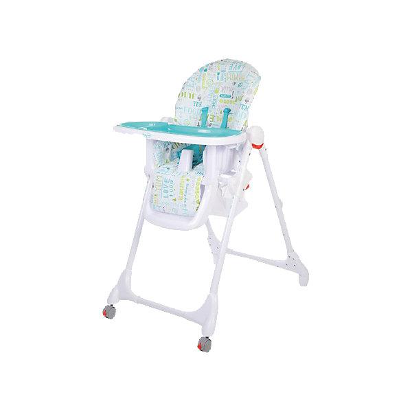 Стульчик для кормления Fiesta, Baby Care, голубойСтульчики для кормления<br>Характеристики детского стульчика для кормления Baby Care Fiesta:<br><br>• регулируемая высота сиденья: 6 уровней;<br>• регулируемый наклон спинки: 3 положения;<br>• регулируемая глубина столешницы: 3 положения;<br>• пластиковая нерегулируемая подножка;<br>• наличие 5-ти точечных ремней безопасности;<br>• пластиковый ограничитель, защита от соскальзывания;<br>• съемная дополнительная столешница, с бортиками и подстаканником, прозрачный пластик;<br>• столик перед ребенком можно снять и убрать;<br>• мягкий чехол, съемный, стирается при температуре 30 градусов;<br>• на задней панели находится сумка-сетка для игрушек;<br>• рама стульчика оснащена колесиками, на передней оси, и стопорами, на задней оси;<br>• компактно складывается, устойчиво стоит в сложенном виде;<br>• материал: алюминий, пластик, полиэстер. <br><br>Пластиковый стульчик Fiesta Baby Care используется от полугода до 6 лет, в зависимости от возраста и роста малыша регулируется высота стульчика, угол наклона спинки, глубина столешницы, наличие/отсутствие столика перед ребенком. Стульчик компактно складывается, не занимает много места в сложенном виде. <br><br>Размеры стульчика Fiesta:<br><br>Размер стульчика в разложенном состоянии: 61х85х100 см<br>Размер стульчика в сложенном состоянии: 61х36х119 см<br>Ширина сиденья: 29,5 см<br>Вес стульчика: 8,2 кг<br>Размер упаковки: 60х32х55 см;<br>Вес в упаковке: 10,5 кг<br><br>Стульчик для кормления Fiesta, Baby Care, голубой можно купить в нашем интернет-магазине.<br><br>Ширина мм: 750<br>Глубина мм: 510<br>Высота мм: 190<br>Вес г: 9200<br>Цвет: голубой<br>Возраст от месяцев: 72<br>Возраст до месяцев: 72<br>Пол: Унисекс<br>Возраст: Детский<br>SKU: 4700999