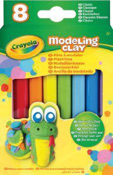 Crayola Незасыхающий Пластилин Классика , 8 Цв