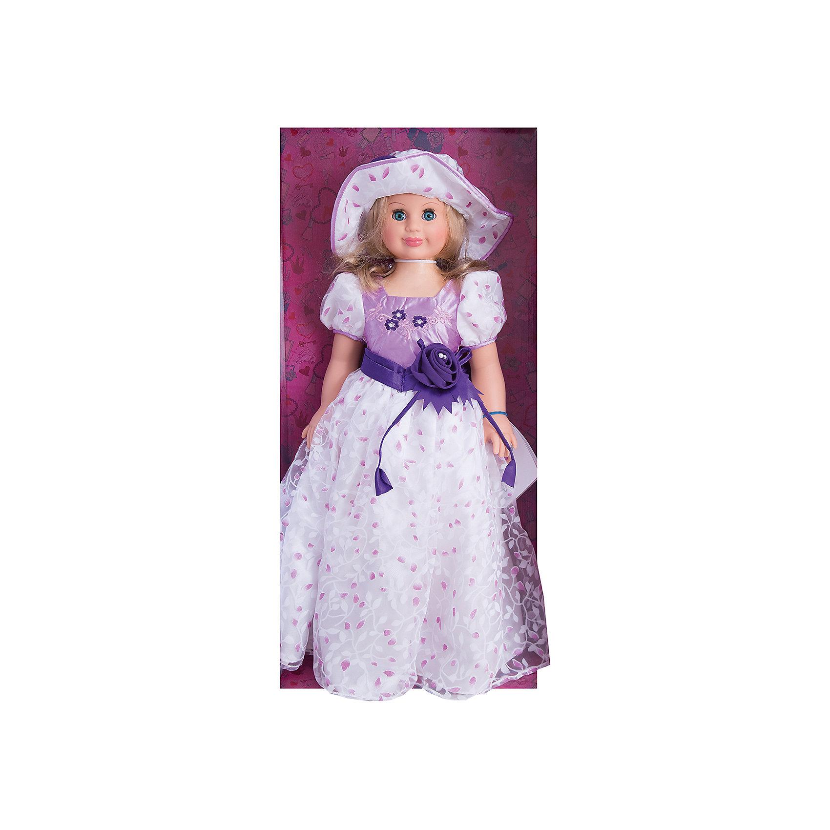 Весна Кукла Милана 6, со звуком, 70 см, Весна кукла весна алсу 35 см со звуком в1634 о
