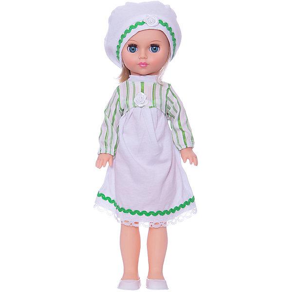 Кукла Мила 2, 40 см, ВеснаКуклы<br>Качественная красивая кукла от отечественного производителя способна не просто помочь ребенку весело проводить время, но и научить девочку одеваться со вкусом. На ней - красивый летний наряд со шляпой и сумочкой, обувь, всё можно снимать и надевать.<br>Очень красиво смотрятся пышные волосы, на которых можно делать прически. Сделана игрушка из качественных и безопасных для ребенка материалов. Такая кукла поможет ребенку освоить механизмы социальных взаимодействий, развить моторику и воображение. Также куклы помогают девочкам научиться заботиться о других.<br><br>Дополнительная информация:<br><br>- материал: пластмасса;<br>- волосы: прошивные;<br>- снимающаяся одежда и обувь;<br>- высота: 40 см.<br><br>Куклу Мила 2 от марки Весна можно купить в нашем магазине.<br>Ширина мм: 490; Глубина мм: 210; Высота мм: 130; Вес г: 410; Возраст от месяцев: 36; Возраст до месяцев: 1188; Пол: Женский; Возраст: Детский; SKU: 4701853;