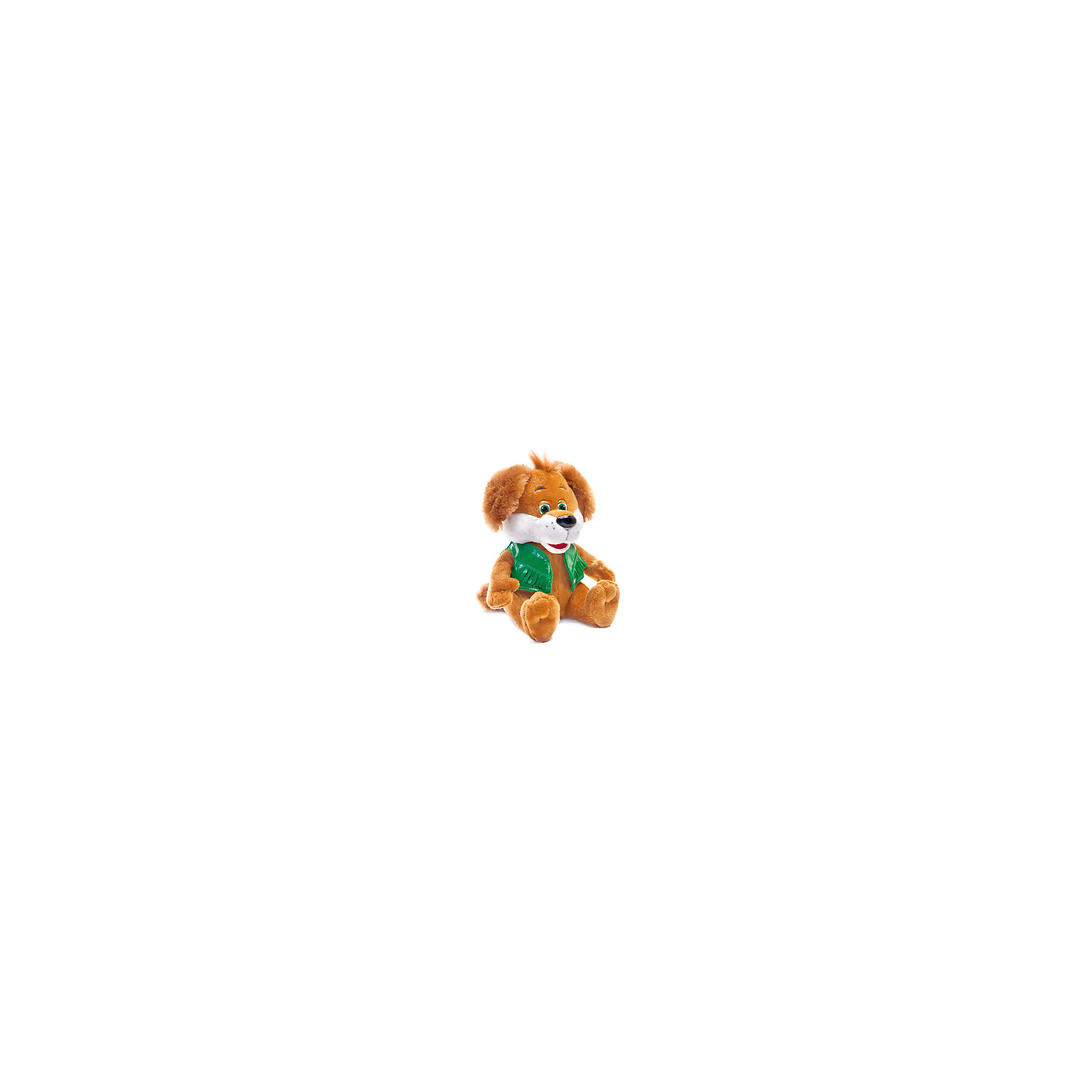 Пёс в жилетке, музыкальный, 24 см, LAVAОзвученные мягкие игрушки<br>Очаровательная мягкая игрушка сделана в виде рыжего щенка в жилетке. Она поможет ребенку проводить время весело и с пользой (такие игрушки развивают воображение и моторику). В игрушке есть встроенный звуковой модуль, работающий на батарейках.<br>Размер игрушки универсален - 24 сантиметра, её удобно брать с собой в поездки и на прогулку. Сделан Щенок из качественных и безопасных для ребенка материалов, которые еще и приятны на ощупь. Эта игрушка может стать и отличным подарком для взрослого.<br><br>Дополнительная информация:<br><br>- материал: текстиль, пластик;<br>- звуковой модуль;<br>- язык: русский;<br>- работает на батарейках;<br>- высота: 24 см.<br><br>Игрушку Пёс в жилетке, музыкальный, 24 см, от марки LAVA можно купить в нашем магазине.<br><br>Ширина мм: 200<br>Глубина мм: 140<br>Высота мм: 110<br>Вес г: 221<br>Возраст от месяцев: 36<br>Возраст до месяцев: 1188<br>Пол: Унисекс<br>Возраст: Детский<br>SKU: 4701867