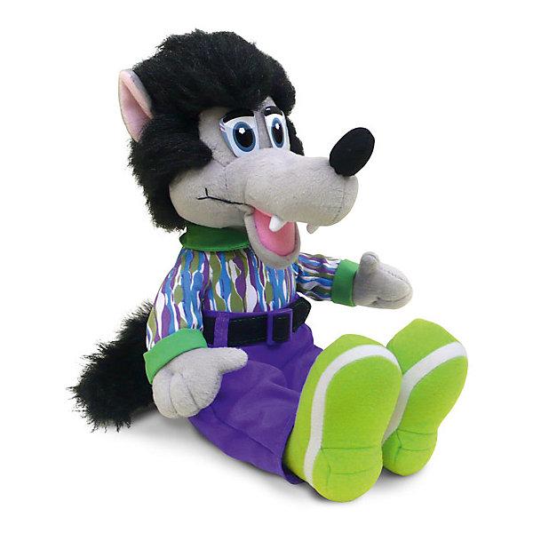 Волк-модник, музыкальный, 29,5 см, LAVAМузыкальные мягкие игрушки<br>Симпатичная мягкая игрушка сделана в виде Волка, одетого в модную одежду. Она поможет ребенку проводить время весело и с пользой (такие игрушки развивают воображение и моторику). В игрушке есть встроенный звуковой модуль, работающий на батарейках.<br>Размер игрушки универсален - 29,5 сантиметров, её удобно брать с собой в поездки и на прогулку. Сделан Волк из качественных и безопасных для ребенка материалов, которые еще и приятны на ощупь. Эта игрушка может стать и отличным подарком для взрослого.<br><br>Дополнительная информация:<br><br>- материал: текстиль, пластик;<br>- звуковой модуль;<br>- язык: русский;<br>- работает на батарейках;<br>- высота: 29,5 см.<br><br>Игрушку Волк-модник, музыкальный, 29,5 см, от марки LAVA можно купить в нашем магазине.<br><br>Ширина мм: 295<br>Глубина мм: 130<br>Высота мм: 110<br>Вес г: 492<br>Возраст от месяцев: 36<br>Возраст до месяцев: 1188<br>Пол: Унисекс<br>Возраст: Детский<br>SKU: 4701875