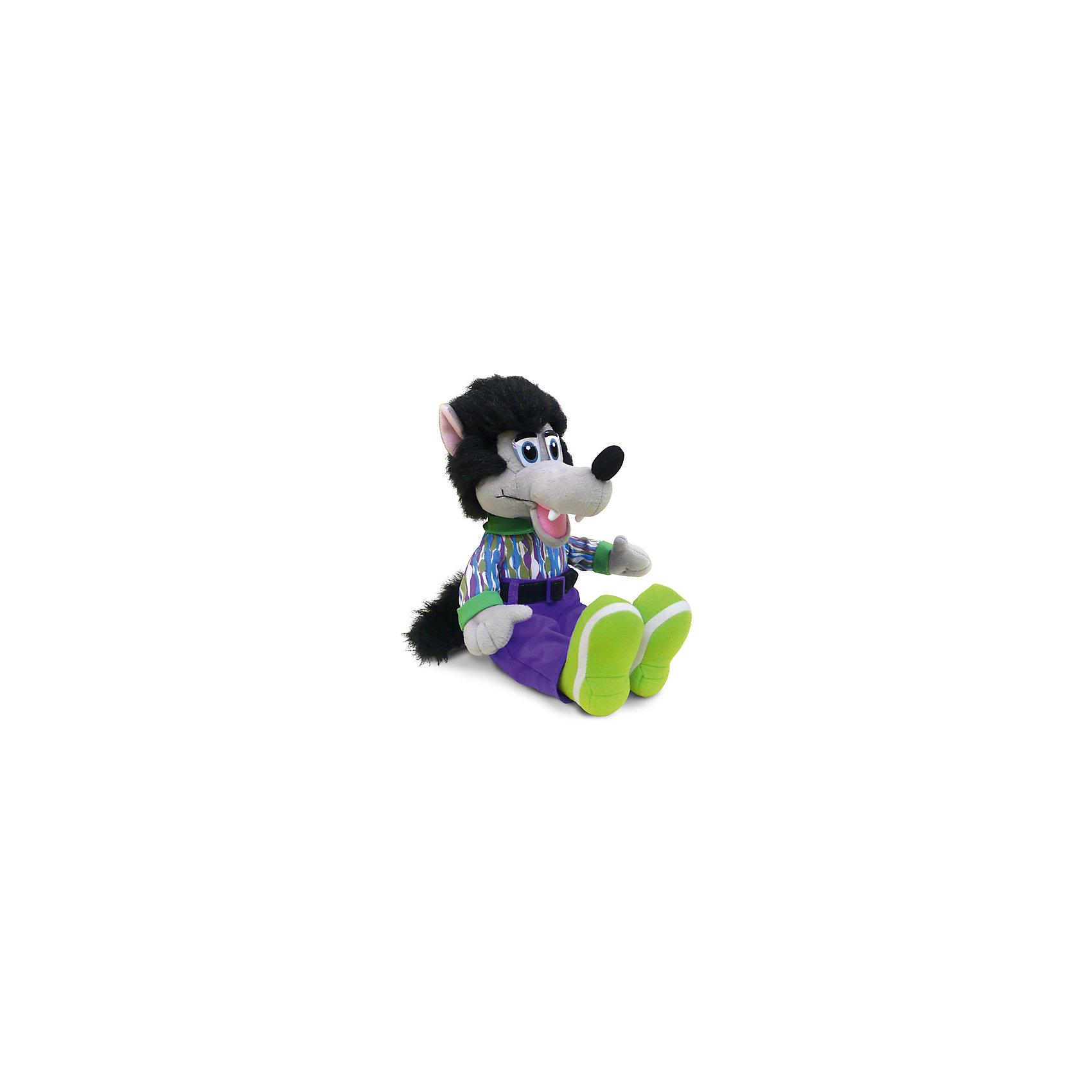 Волк-модник, музыкальный, 29,5 см, LAVAМягкие игрушки животные<br>Симпатичная мягкая игрушка сделана в виде Волка, одетого в модную одежду. Она поможет ребенку проводить время весело и с пользой (такие игрушки развивают воображение и моторику). В игрушке есть встроенный звуковой модуль, работающий на батарейках.<br>Размер игрушки универсален - 29,5 сантиметров, её удобно брать с собой в поездки и на прогулку. Сделан Волк из качественных и безопасных для ребенка материалов, которые еще и приятны на ощупь. Эта игрушка может стать и отличным подарком для взрослого.<br><br>Дополнительная информация:<br><br>- материал: текстиль, пластик;<br>- звуковой модуль;<br>- язык: русский;<br>- работает на батарейках;<br>- высота: 29,5 см.<br><br>Игрушку Волк-модник, музыкальный, 29,5 см, от марки LAVA можно купить в нашем магазине.<br><br>Ширина мм: 295<br>Глубина мм: 130<br>Высота мм: 110<br>Вес г: 492<br>Возраст от месяцев: 36<br>Возраст до месяцев: 1188<br>Пол: Унисекс<br>Возраст: Детский<br>SKU: 4701875