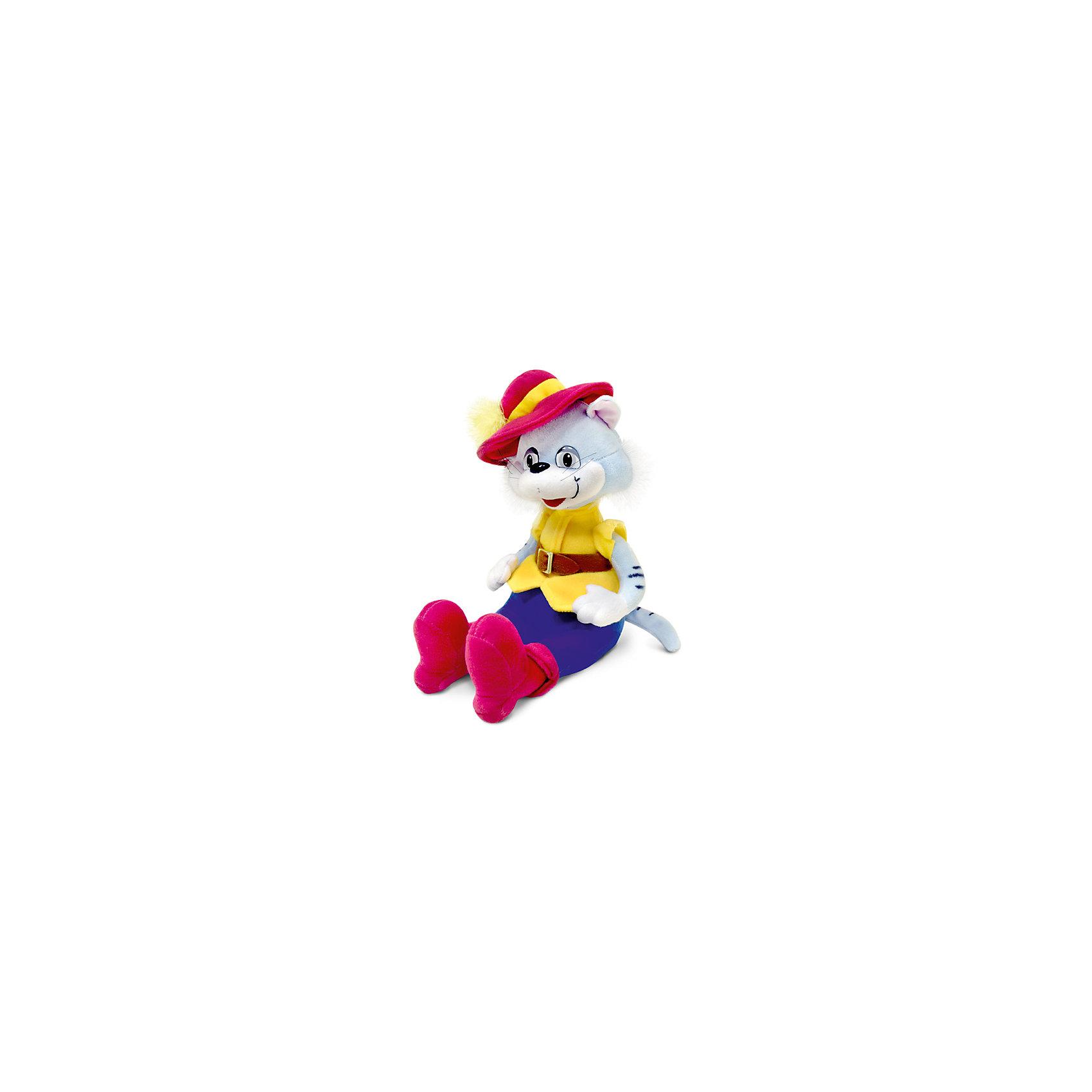 Кот в шляпе, музыкальный, 27 см, LAVAЗабавная мягкая игрушка сделана в виде Кота в сапогах и шляпе. Она поможет ребенку проводить время весело и с пользой (такие игрушки развивают воображение и моторику). В игрушке есть встроенный звуковой модуль, работающий на батарейках.<br>Размер игрушки универсален - 27 сантиметра, её удобно брать с собой в поездки и на прогулку. Сделан Кот из качественных и безопасных для ребенка материалов, которые еще и приятны на ощупь. Эта игрушка может стать и отличным подарком для взрослого.<br><br>Дополнительная информация:<br><br>- материал: текстиль, пластик;<br>- звуковой модуль;<br>- язык: русский;<br>- работает на батарейках;<br>- высота: 27 см.<br><br>Игрушку Кот в шляпе, музыкальный, 27 см, от марки LAVA можно купить в нашем магазине.<br><br>Ширина мм: 9999<br>Глубина мм: 9999<br>Высота мм: 270<br>Вес г: 469<br>Возраст от месяцев: 36<br>Возраст до месяцев: 1188<br>Пол: Унисекс<br>Возраст: Детский<br>SKU: 4701876