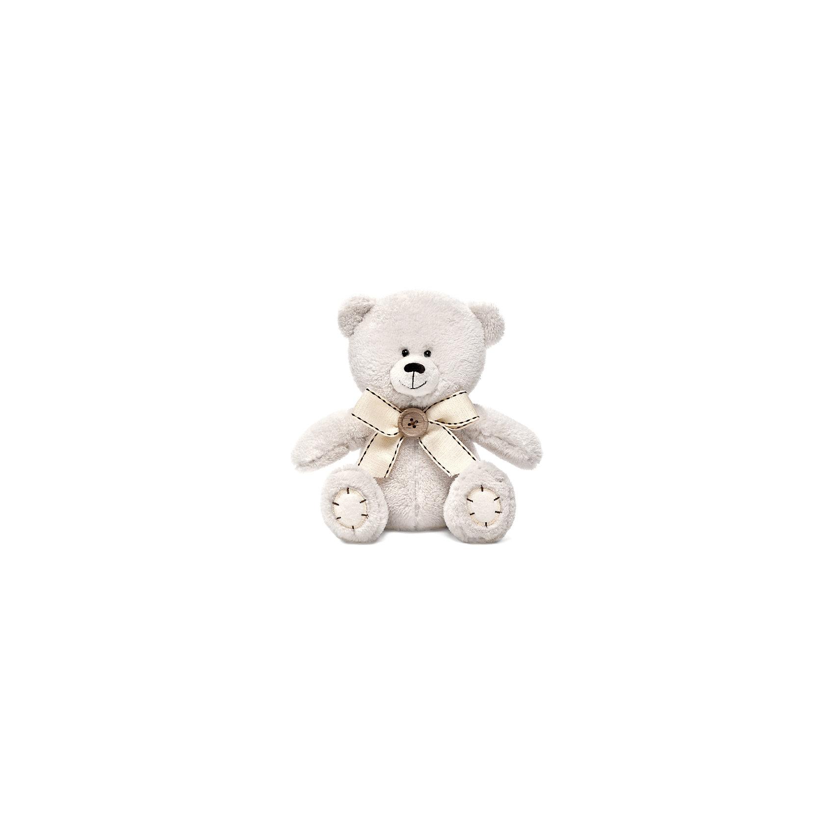 Медвежонок Масик с бантиком, музыкальный, 17,5 см, LAVA