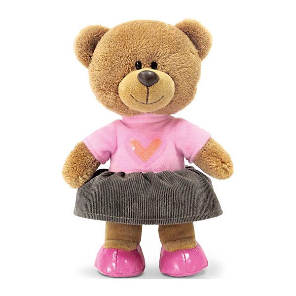Медведица Оливия, музыкальная, 24 см, LAVAМузыкальные мягкие игрушки<br>Симпатичная мягкая игрушка сделана в виде Медвежонка -девочки, модно одетой. Она поможет ребенку проводить время весело и с пользой (такие игрушки развивают воображение и моторику). В игрушке есть встроенный звуковой модуль, работающий на батарейках.<br>Размер игрушки универсален - 24 сантиметра, её удобно брать с собой в поездки и на прогулку. Сделан Медвежонок из качественных и безопасных для ребенка материалов, которые еще и приятны на ощупь. Эта игрушка может стать и отличным подарком для взрослого.<br><br>Дополнительная информация:<br><br>- материал: текстиль, пластик;<br>- звуковой модуль;<br>- язык: русский;<br>- работает на батарейках;<br>- высота: 24 см.<br><br>Игрушку Медведица Оливия, музыкальная, 24 см, от марки LAVA можно купить в нашем магазине.<br><br>Ширина мм: 240<br>Глубина мм: 130<br>Высота мм: 110<br>Вес г: 550<br>Возраст от месяцев: 36<br>Возраст до месяцев: 1188<br>Пол: Унисекс<br>Возраст: Детский<br>SKU: 4701890