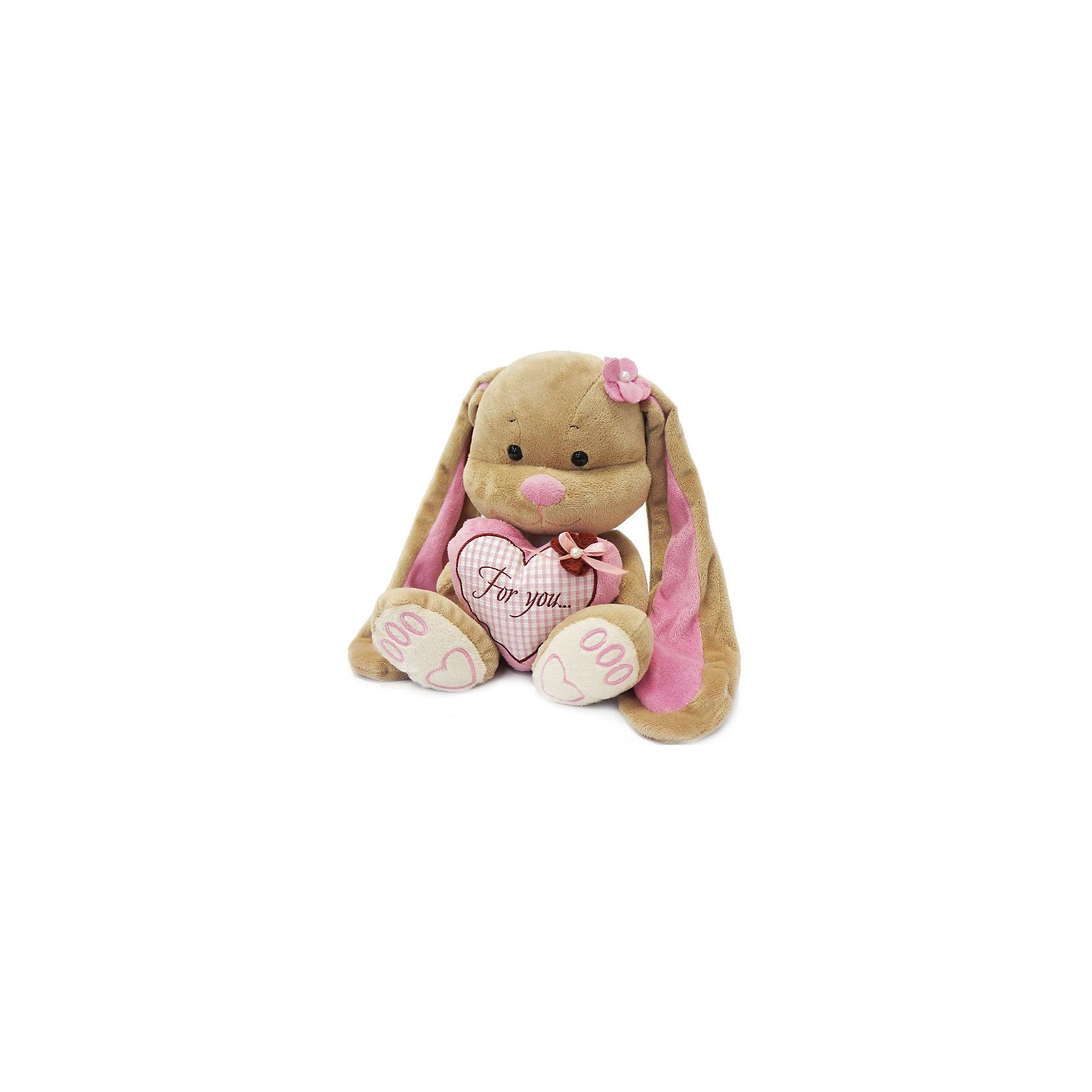 Зайка Лин с сердцем, 25 см, MAXITOYSЗайцы и кролики<br>Очень симпатичная мягкая игрушка сделана в виде Зайца с сердцем в лапках. Она поможет ребенку проводить время весело и с пользой (такие игрушки развивают воображение и моторику). Смотрится игрушка очень мило - ее хочется трогать и играть с ней.<br>Размер игрушки универсален - 25 сантиметров, её удобно брать с собой в поездки и на прогулку. Сделан Зайка из качественных и безопасных для ребенка материалов, которые еще и приятны на ощупь. Эта игрушка может стать и отличным подарком для взрослого, также она украсит любой интерьер.<br><br>Дополнительная информация:<br><br>- материал: мех искусственный, трикотажный, волокно полиэфирное;<br>- высота: 25 см.<br><br>Игрушку Зайка Лин с сердцем, 25 см, от марки MAXITOYS можно купить в нашем магазине.<br><br>Ширина мм: 170<br>Глубина мм: 200<br>Высота мм: 250<br>Вес г: 221<br>Возраст от месяцев: 36<br>Возраст до месяцев: 1188<br>Пол: Женский<br>Возраст: Детский<br>SKU: 4701892