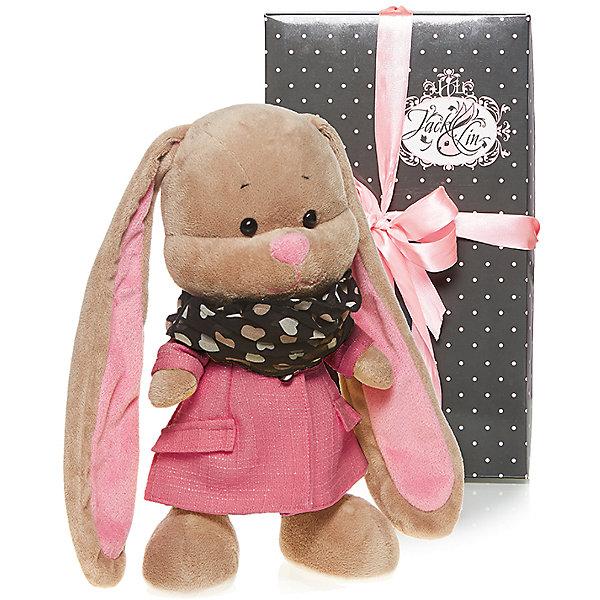 Зайка Лин в розовом пальто, 25 см, MAXITOYSМягкие игрушки животные<br>Красивая игрушка сделана в виде Зайца в розовом платье и стильном шарфе. Она поможет ребенку проводить время весело и с пользой (такие игрушки развивают воображение и моторику). Смотрится игрушка очень мило - ее хочется трогать и играть с ней.<br>Размер игрушки универсален - 25 сантиметров, её удобно брать с собой в поездки и на прогулку. Сделан Зайка из качественных и безопасных для ребенка материалов, которые еще и приятны на ощупь. Эта игрушка может стать и отличным подарком для взрослого, также она украсит любой интерьер.<br><br>Дополнительная информация:<br><br>- материал: мех искусственный, трикотажный, волокно полиэфирное;<br>- высота: 25 см.<br><br>Игрушку Зайка Лин в розовом пальто, 25 см, от марки MAXITOYS можно купить в нашем магазине.<br>Ширина мм: 170; Глубина мм: 200; Высота мм: 250; Вес г: 221; Возраст от месяцев: 36; Возраст до месяцев: 1188; Пол: Женский; Возраст: Детский; SKU: 4701895;