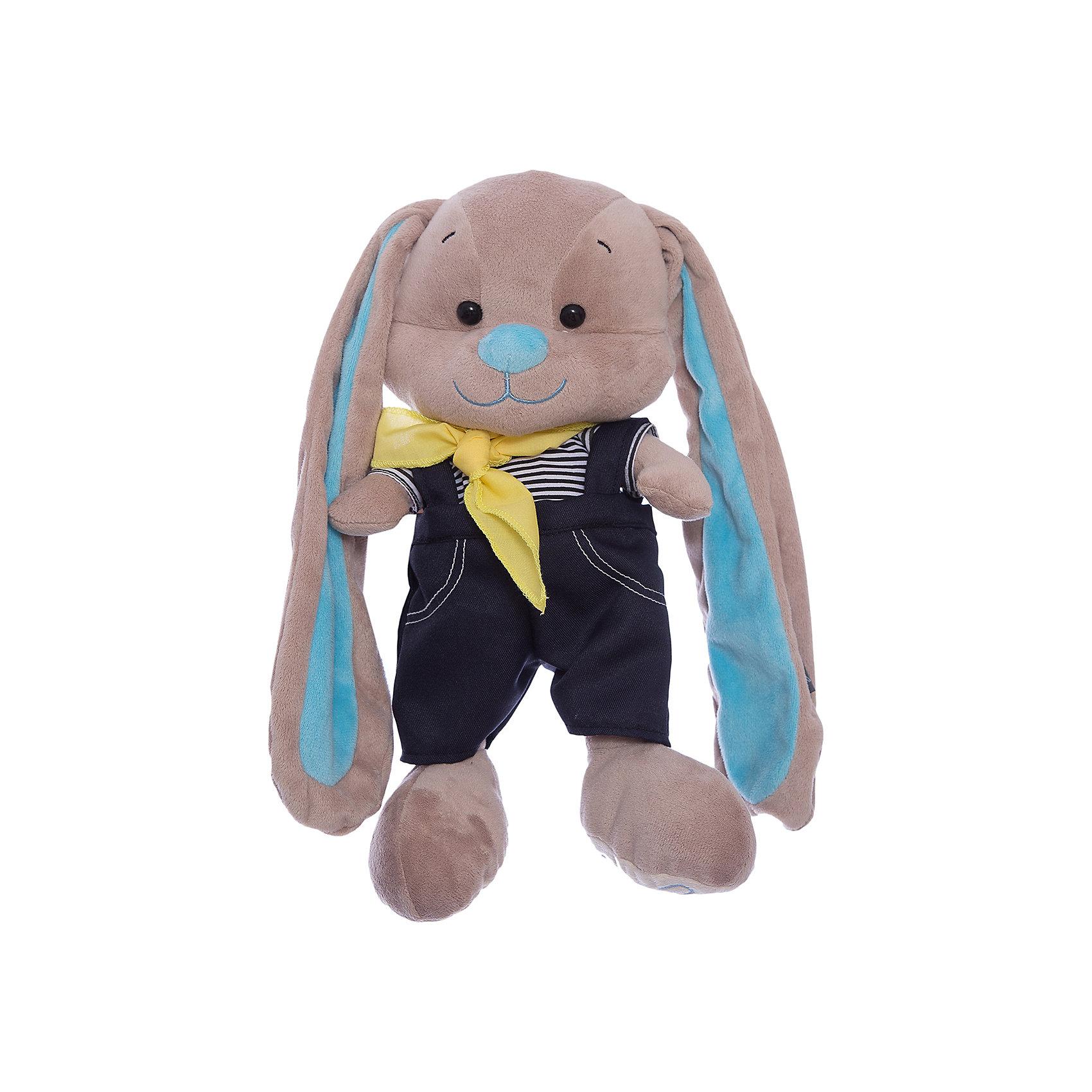 Зайчик Жак в морском костюмчике, 25 см, MAXITOYSЗайцы и кролики<br>Очень симпатичная мягкая игрушка сделана в виде Зайца, одетого в костюм в морском стиле. Она поможет ребенку проводить время весело и с пользой (такие игрушки развивают воображение и моторику). Смотрится игрушка очень мило - ее хочется трогать и играть с ней.<br>Размер игрушки универсален - 25 сантиметров, её удобно брать с собой в поездки и на прогулку. Сделан Зайка из качественных и безопасных для ребенка материалов, которые еще и приятны на ощупь. Эта игрушка может стать и отличным подарком для взрослого, также она украсит любой интерьер.<br><br>Дополнительная информация:<br><br>- материал: мех искусственный, трикотажный, волокно полиэфирное;<br>- высота: 25 см.<br><br>Игрушку Зайчик Жак в морском костюмчике, 25 см, от марки MAXITOYS можно купить в нашем магазине.<br><br>Ширина мм: 170<br>Глубина мм: 200<br>Высота мм: 250<br>Вес г: 221<br>Возраст от месяцев: 36<br>Возраст до месяцев: 1188<br>Пол: Женский<br>Возраст: Детский<br>SKU: 4701898