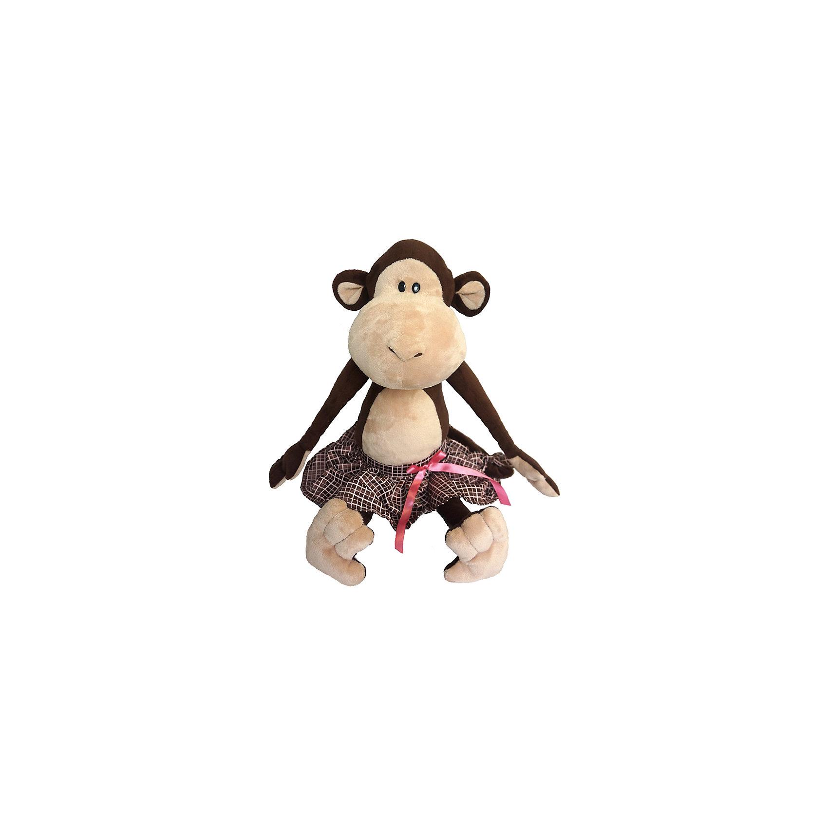 Обезьянка Верка в юбке, 25 см, MAXITOYSЗвери и птицы<br>Забавная игрушка сделана в виде милой обезьянки в юбке. Она поможет ребенку проводить время весело и с пользой (такие игрушки развивают воображение и моторику). Смотрится игрушка очень мило - ее хочется трогать и играть с ней.<br>Размер игрушки универсален - 25 сантиметров, её удобно брать с собой в поездки и на прогулку. Сделана обезьянка из качественных и безопасных для ребенка материалов, которые еще и приятны на ощупь. Эта игрушка может стать и отличным подарком для взрослого, также она украсит любой интерьер.<br><br>Дополнительная информация:<br><br>- материал: мех искусственный, трикотажный, волокно полиэфирное;<br>- высота: 25 см.<br><br>Игрушку Обезьянка Верка в юбке, 25 см, от марки MAXITOYS можно купить в нашем магазине.<br><br>Ширина мм: 220<br>Глубина мм: 230<br>Высота мм: 250<br>Вес г: 13<br>Возраст от месяцев: 36<br>Возраст до месяцев: 1188<br>Пол: Женский<br>Возраст: Детский<br>SKU: 4701901