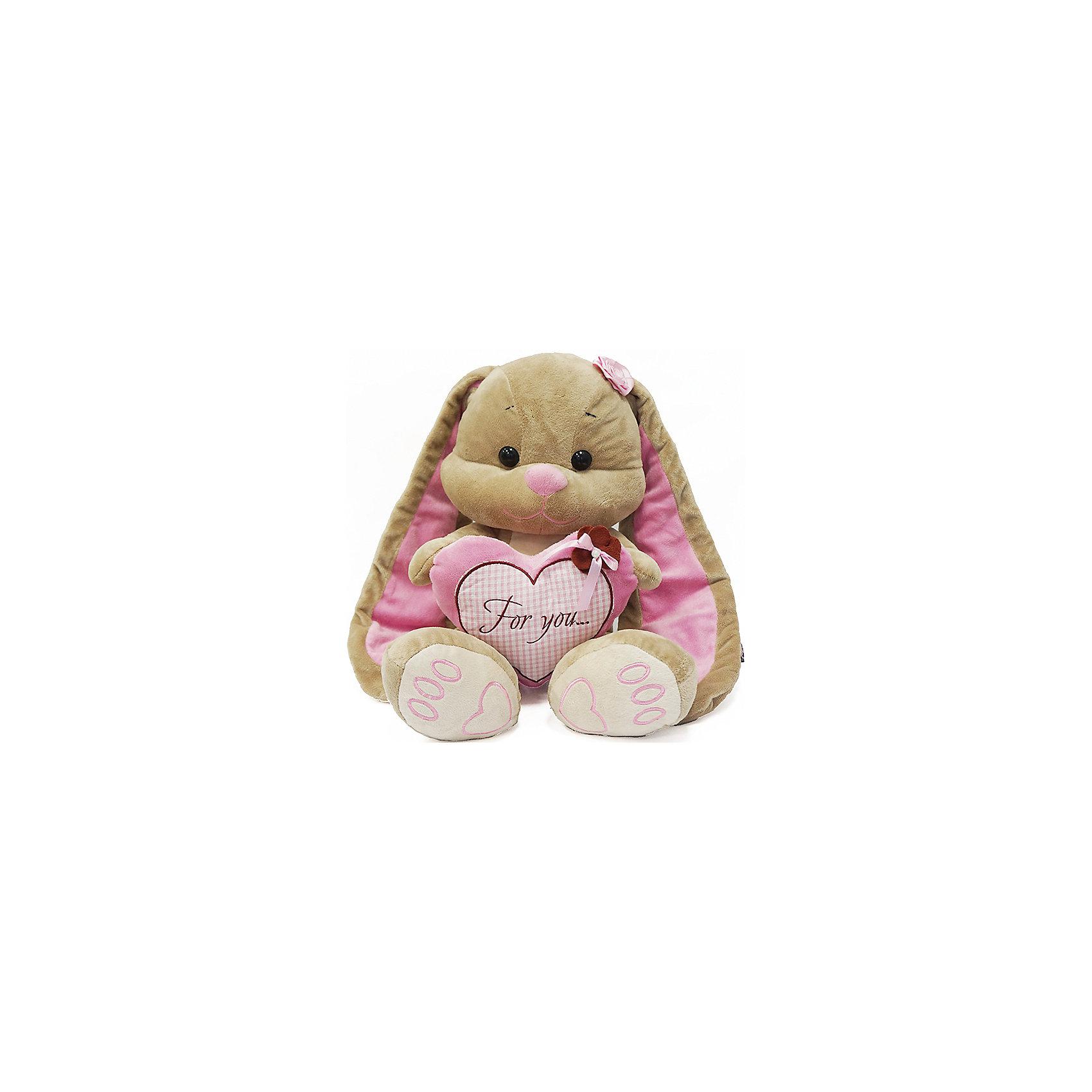 Зайка Лин с сердцем, 35 см, MAXITOYSЗайцы и кролики<br>Очень симпатичная мягкая игрушка сделана в виде Зайца с сердцем в лапках. Она поможет ребенку проводить время весело и с пользой (такие игрушки развивают воображение и моторику). Смотрится игрушка очень мило - ее хочется трогать и играть с ней.<br>Размер игрушки универсален - 35 сантиметров, её удобно брать с собой в поездки и на прогулку. Сделан Зайка из качественных и безопасных для ребенка материалов, которые еще и приятны на ощупь. Эта игрушка может стать и отличным подарком для взрослого, также она украсит любой интерьер.<br><br>Дополнительная информация:<br><br>- материал: мех искусственный, трикотажный, волокно полиэфирное;<br>- высота: 35 см.<br><br>Игрушку Зайка Лин с сердцем, 35 см, от марки MAXITOYS можно купить в нашем магазине.<br><br>Ширина мм: 350<br>Глубина мм: 310<br>Высота мм: 350<br>Вес г: 524<br>Возраст от месяцев: 36<br>Возраст до месяцев: 1188<br>Пол: Женский<br>Возраст: Детский<br>SKU: 4701903