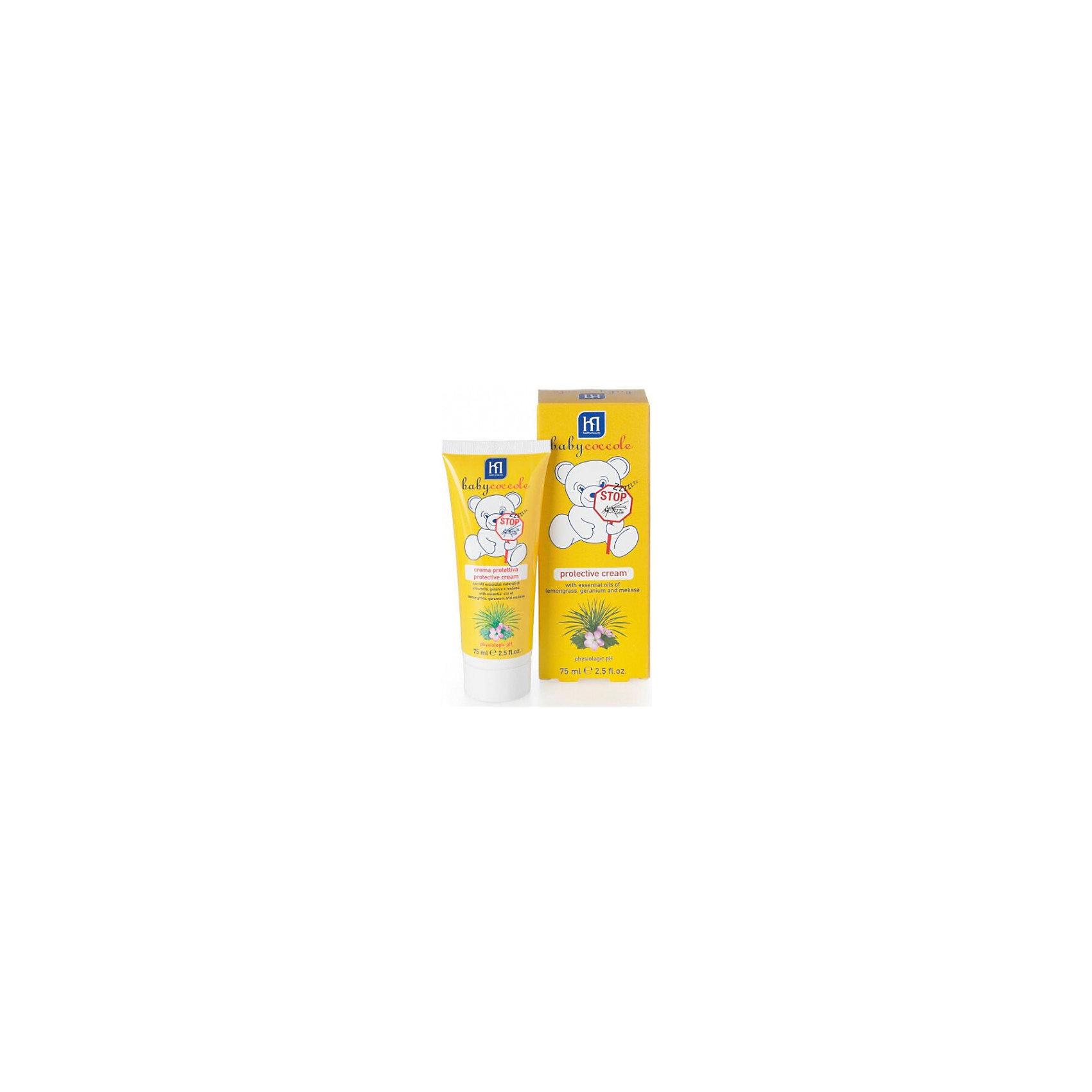 Babycoccole Защитный крем от комаров 75мл, Babycoccole от комаров