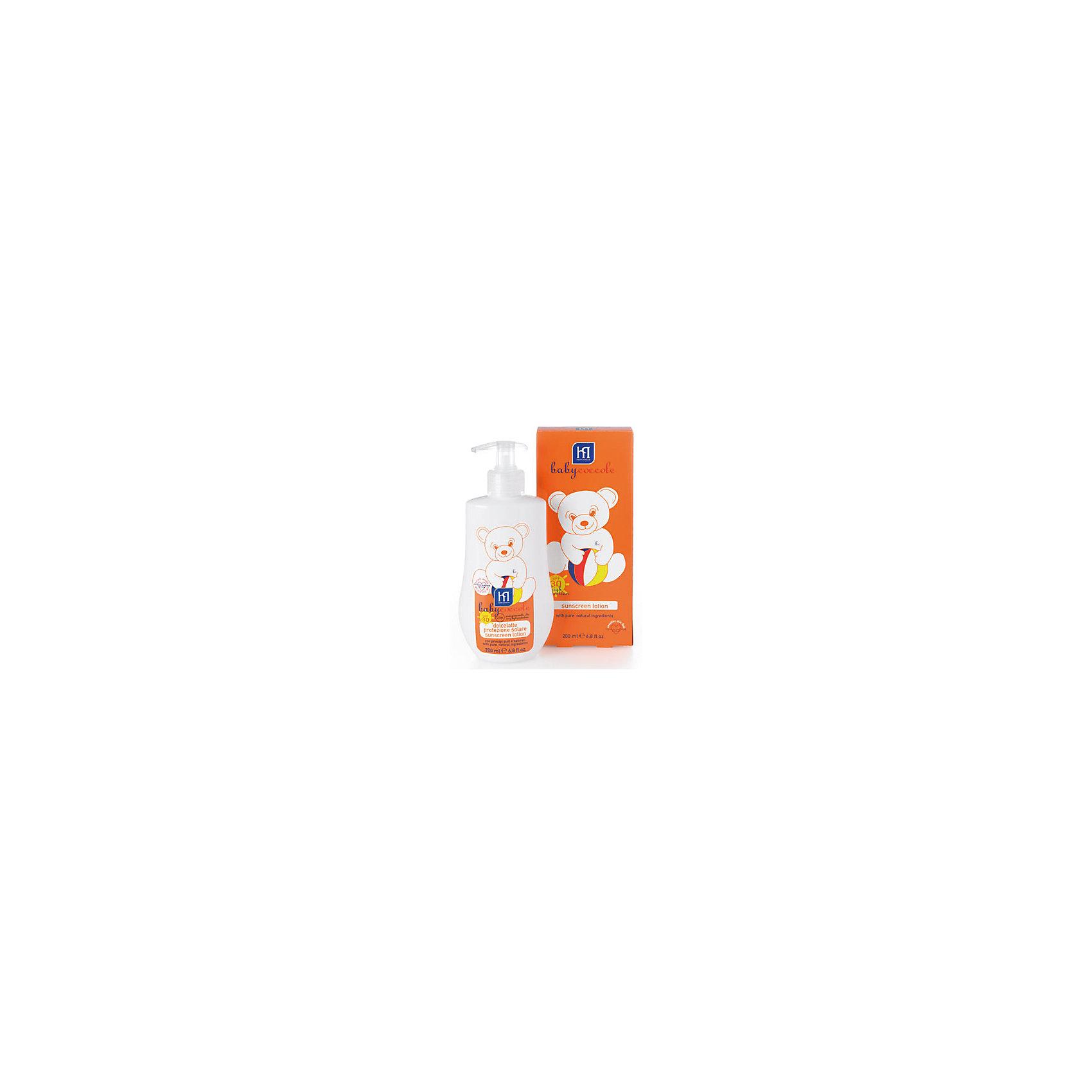 Babycoccole Молочко солнцезащитное мягкое с высокой степенью защиты 200мл, Babycoccole babycoccole легкий 100 мл