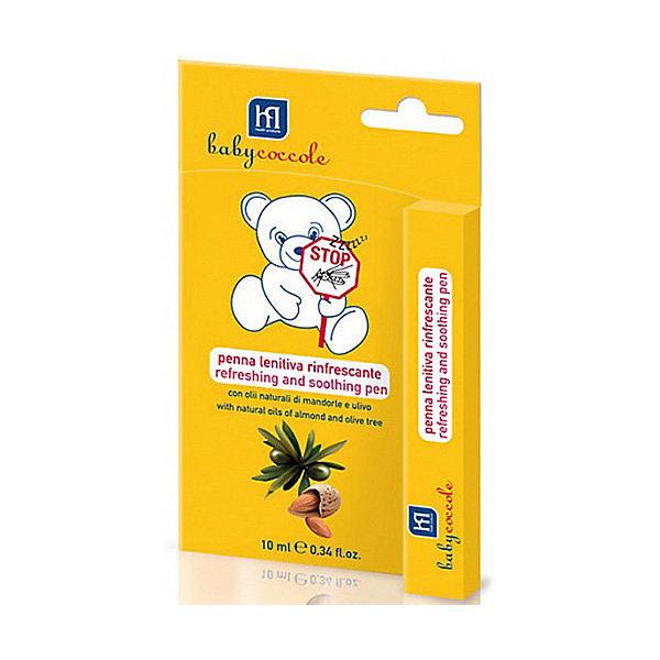 Успокаивающий и освежающий карандаш от комаров 10мл, BabycoccoleКосметика для малыша<br>Успокаивающий и освежающий карандаш от комаров 10мл, Babycoccole (Бэбикоколле) – помогает снять зуд и раздражения.<br>Успокаивающий и освежающий карандаш от комаров Babycoccole (Бэбикоколле) сделает последствия укусов комаров и других насекомых менее болезненными. Подходит для новорожденных с первого дня жизни. В состав средства входят миндаль и олива, которые известны своими противовоспалительными и успокаивающими свойствами. Карандаш освежает кожу, смягчает ее и снимает покраснения. Поскольку карандаш изготовлен из натуральных компонентов, то он не вызывает аллергических реакций и подходят для чувствительной кожи. Обладает физиологическим уровнем рН.<br><br>Дополнительная информация:<br><br>- Объем: 10 мл.<br>- Не содержит SLS/SLES<br>- Не содержит красителей<br>- Клинически протестирован<br>- Способ применения: небольшое количество средства необходимо нанести на место укуса, при необходимости через время повторить<br><br>Успокаивающий и освежающий карандаш от комаров 10мл, Babycoccole (Бэбикоколле) можно купить в нашем интернет-магазине.<br><br>Ширина мм: 20<br>Глубина мм: 100<br>Высота мм: 160<br>Вес г: 50<br>Возраст от месяцев: 0<br>Возраст до месяцев: 36<br>Пол: Унисекс<br>Возраст: Детский<br>SKU: 4701924