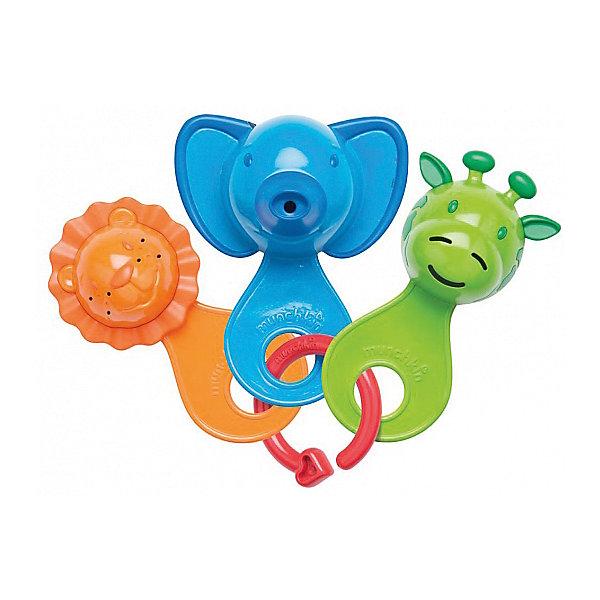 Игрушка для ванны Весёлые ситечки 6+, MunchkinИгрушки для ванной<br>Игрушка для ванны Весёлые ситечки 6+, Munchkin (Манчкин) - непременно понравится вашему малышу и превратит купание в веселую игру!<br>Набор разноцветных игрушек-ситечек развлечет ребенка во время купания и познакомит с окружающим его миром. Ребенок с удовольствием будет зачерпывать и просеивать водичку, наблюдая, как она вытекает из разноцветных мордочек разных размеров и форм. Каждое ситечко имеет уникальный рисунок и мягкие края для удобства хватания. Развивает мелкую моторику рук. Миссия Munchkin (Манчкин), американской компании с 20-летней историей: избавить мир от надоевших и прозаических товаров, искать умные инновационные решения, которые превращает обыденные задачи в опыт, приносящий удовольствие. Понимая, что наибольшее значение в быту имеют именно мелочи, компания создает уникальные товары, которые помогают поддерживать порядок, организовывать пространство, облегчают уход за детьми – недаром компания имеет уже более 140 патентов и изобретений, используемых в создании ее неповторимой и оригинальной продукции. Munchkin (Манчкин) делает жизнь родителей легче!<br><br>Дополнительная информация:<br><br>- Для детей с 6 месяцев<br>- В наборе: три разноцветных ситечек-животных, соединенных на пластиковое кольцо<br>- Материал: пластмасса<br>- Длина ситечек: 11 см.<br>- Размер упаковки: 20х18х6 см.<br>- Вес: 100 гр.<br><br>Игрушку для ванны Весёлые ситечки 6+, Munchkin (Манчкин) можно купить в нашем интернет-магазине.<br><br>Ширина мм: 200<br>Глубина мм: 180<br>Высота мм: 60<br>Вес г: 100<br>Возраст от месяцев: 6<br>Возраст до месяцев: 36<br>Пол: Унисекс<br>Возраст: Детский<br>SKU: 4701927