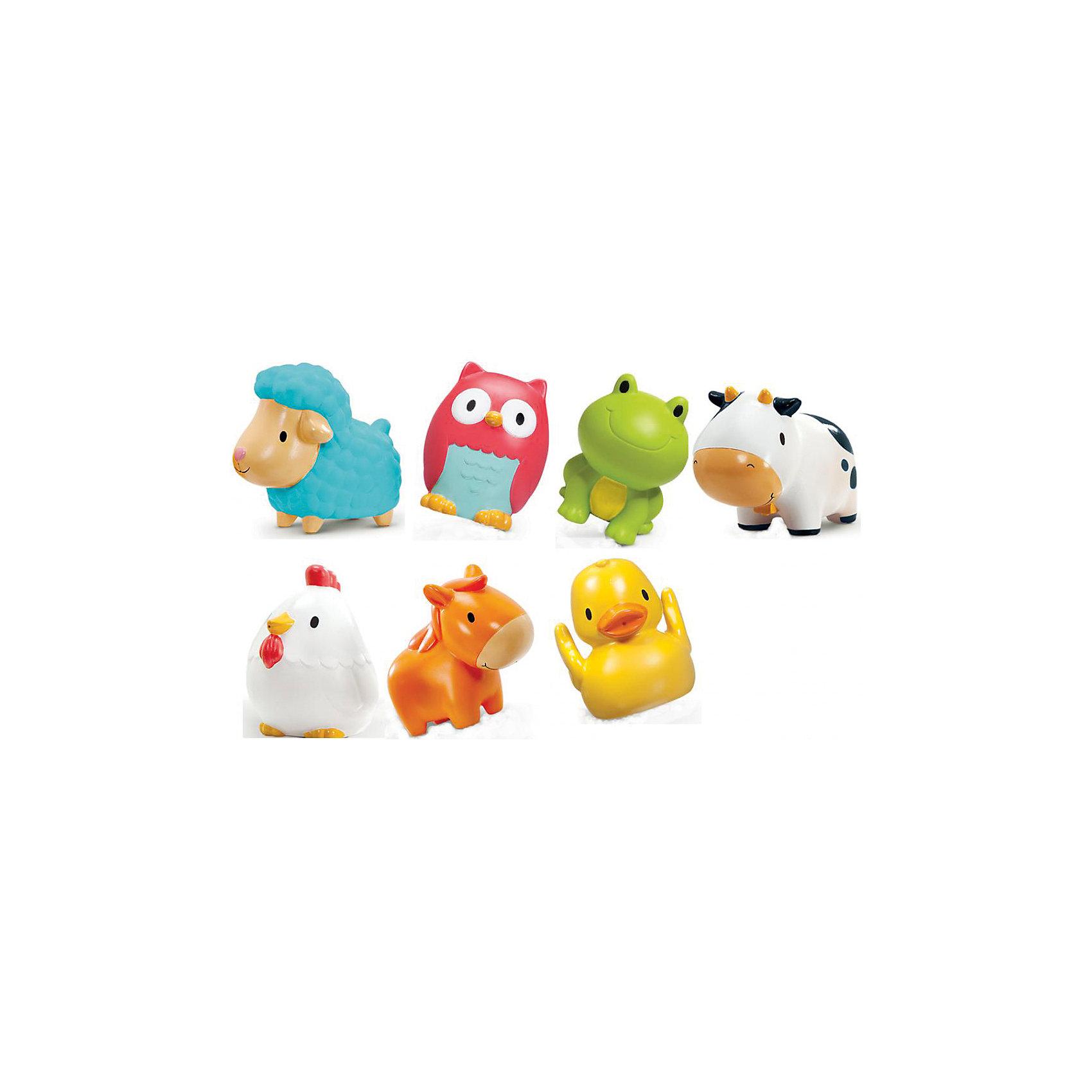 Игрушка для ванны Деревенские ферма9+, MunchkinИгрушки для ванны<br>Игрушка для ванны Деревенские ферма9+, Munchkin (Манчкин) - непременно понравится вашему малышу и превратит купание в веселую игру!<br>Веселые зверята не оставят равнодушным ни одного малыша - теперь купание будет доставлять только удовольствие! В наборе семь игрушек-брызгалок в виде очаровательных животных живущих на ферме. Яркие забавные зверюшки имеют подходящий для малыша размер и форму. Он сможет легко удерживать в ручках фигурки животных и сжимать их. Игрушки развивают мелкую моторику рук. Миссия Munchkin (Манчкин), американской компании с 20-летней историей: избавить мир от надоевших и прозаических товаров, искать умные инновационные решения, которые превращает обыденные задачи в опыт, приносящий удовольствие. Понимая, что наибольшее значение в быту имеют именно мелочи, компания создает уникальные товары, которые помогают поддерживать порядок, организовывать пространство, облегчают уход за детьми – недаром компания имеет уже более 140 патентов и изобретений, используемых в создании ее неповторимой и оригинальной продукции. Munchkin (Манчкин) делает жизнь родителей легче!<br><br>Дополнительная информация:<br><br>- Для детей с 9 месяцев<br>- В наборе: семь игрушек-брызгалок для ванны<br>- Материал: резина<br>- Не содержат Бисфенол А<br>- Размер упаковки: 9х28х9 см.<br>- Вес: 250 гр.<br><br>Игрушку для ванны Деревенские ферма9+, Munchkin (Манчкин) можно купить в нашем интернет-магазине.<br><br>Ширина мм: 90<br>Глубина мм: 280<br>Высота мм: 90<br>Вес г: 250<br>Возраст от месяцев: 9<br>Возраст до месяцев: 36<br>Пол: Унисекс<br>Возраст: Детский<br>SKU: 4701930