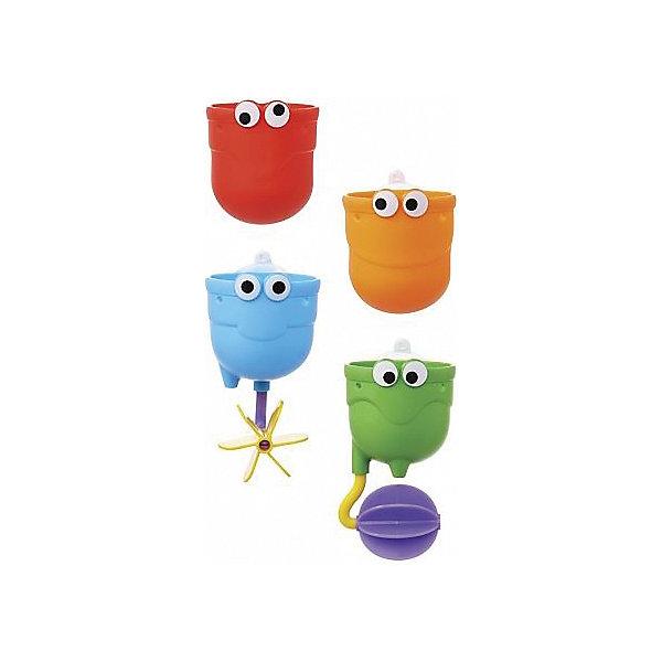Игрушки для ванны Водопад 12+, MunchkinИгрушки для ванной<br>Игрушки для ванны Водопад 12+, Munchkin (Манчкин) - непременно понравится вашему малышу и превратит купание в веселую игру!<br>С игрушкой для ванной Водопад от Munchkin (Манчкин) можно легко устроить настоящий водопад в собственной ванной! Купание станет гораздо веселее, если прикрепить над ванной красочные чашечки и следить, как через них замысловато переливается вода. Три чашечки из комплекта легко крепятся на стену с помощью специальной присоски, каждая из них имеет специальный подвижный элемент, который направляет струю воды и делает игру гораздо увлекательнее. Четвертая чашка предназначена для того, чтобы малыш зачерпывал ею воду. Игрушки можно установить по вертикали в одну линию, чтобы устроить непрерывный водопад, или разместить их так, чтобы вода стекала хаотично. Крепятся на стену в ванной с помощью удобных присосок. Способствуют развитию мелкой моторики, фантазии, логического мышления. Миссия Munchkin (Манчкин), американской компании с 20-летней историей: избавить мир от надоевших и прозаических товаров, искать умные инновационные решения, которые превращает обыденные задачи в опыт, приносящий удовольствие. Понимая, что наибольшее значение в быту имеют именно мелочи, компания создает уникальные товары, которые помогают поддерживать порядок, организовывать пространство, облегчают уход за детьми – недаром компания имеет уже более 140 патентов и изобретений, используемых в создании ее неповторимой и оригинальной продукции. Munchkin (Манчкин) делает жизнь родителей легче!<br><br>Дополнительная информация:<br><br>- Для детей с 12 месяцев<br>- В наборе: 4 чашечки<br>- Удобная форма для маленьких ручек<br>- Материал: пластмасса<br>- Размер упаковки: 7х22х25 см.<br>- Вес: 170 гр.<br><br>Игрушки для ванны Водопад 12+, Munchkin (Манчкин) можно купить в нашем интернет-магазине.<br><br>Ширина мм: 70<br>Глубина мм: 220<br>Высота мм: 250<br>Вес г: 170<br>Возраст от месяцев: 12<br>Возраст до месяцев: 36<br>Пол