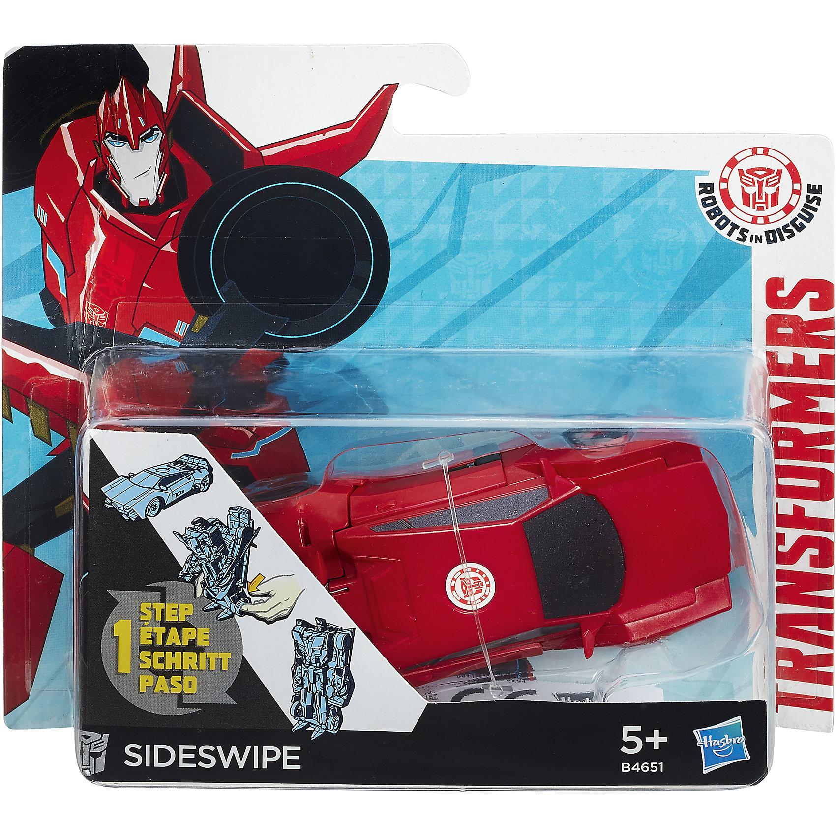 Hasbro Трансформеры Роботс-ин-Дисгайс Уан-Стэп, B4651/B0068 оружие игрушечное hasbro hasbro бластер nerf n strike mega rotofury