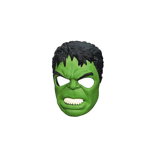 Маска мстителей: Халк, Marvel HeroesИгрушки<br>Маска Халка станет приятным сюрпризом для вашего ребенка, особенно если он является поклонником популярных комиксов и фильмов о супергероях Мстители (Avengers). Маска любимого персонажа поможет ребенку представить себя героем, которой спасает мир от злодеев и погрузиться с друзьями в увлекательный игровой процесс. Маска из прочного пластика выполнена очень реалистично, все детали тщательно проработаны. Размер можно отрегулировать с помощью застежки, область глаз прорезинена. <br><br>Дополнительная информация:  <br><br>- Материал: пластик. <br>- Размер упаковки: 11 х 19,1 х 30,5 см.  <br><br>Маску мстителей: Халк, Marvel Heroes (Герои Марвел), можно купить в нашем интернет-магазине.<br>Ширина мм: 238; Глубина мм: 215; Высота мм: 101; Вес г: 116; Возраст от месяцев: 48; Возраст до месяцев: 96; Пол: Мужской; Возраст: Детский; SKU: 4702897;