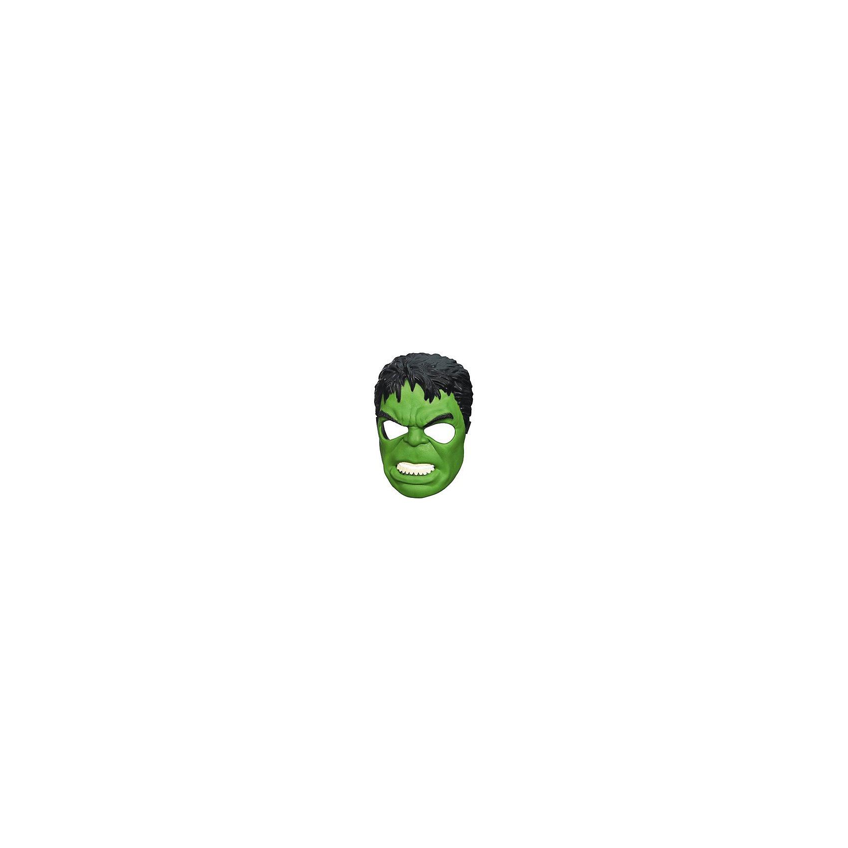 Маска мстителей: Халк, Marvel HeroesИгрушки<br>Маска Халка станет приятным сюрпризом для вашего ребенка, особенно если он является поклонником популярных комиксов и фильмов о супергероях Мстители (Avengers). Маска любимого персонажа поможет ребенку представить себя героем, которой спасает мир от злодеев и погрузиться с друзьями в увлекательный игровой процесс. Маска из прочного пластика выполнена очень реалистично, все детали тщательно проработаны. Размер можно отрегулировать с помощью застежки, область глаз прорезинена. <br><br>Дополнительная информация:  <br><br>- Материал: пластик. <br>- Размер упаковки: 11 х 19,1 х 30,5 см.  <br><br>Маску мстителей: Халк, Marvel Heroes (Герои Марвел), можно купить в нашем интернет-магазине.<br><br>Ширина мм: 238<br>Глубина мм: 215<br>Высота мм: 101<br>Вес г: 116<br>Возраст от месяцев: 48<br>Возраст до месяцев: 96<br>Пол: Мужской<br>Возраст: Детский<br>SKU: 4702897