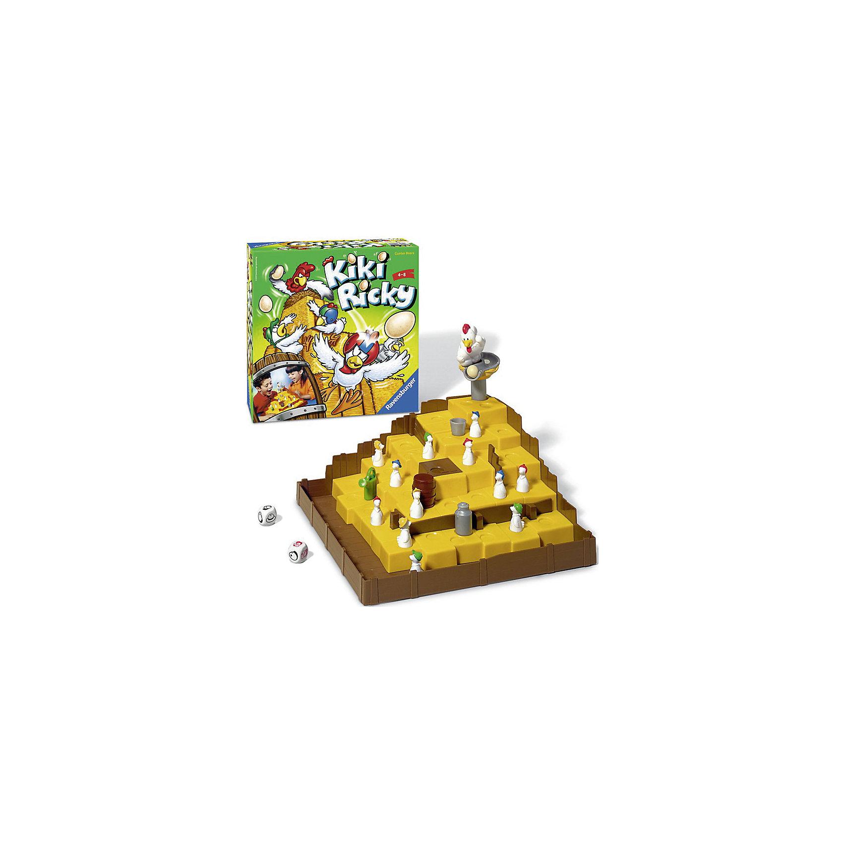 Ravensburger Настольная игра Ку-ка-ре-ку!, Ravensburger сувениры рнтойс гнездо с яйцами