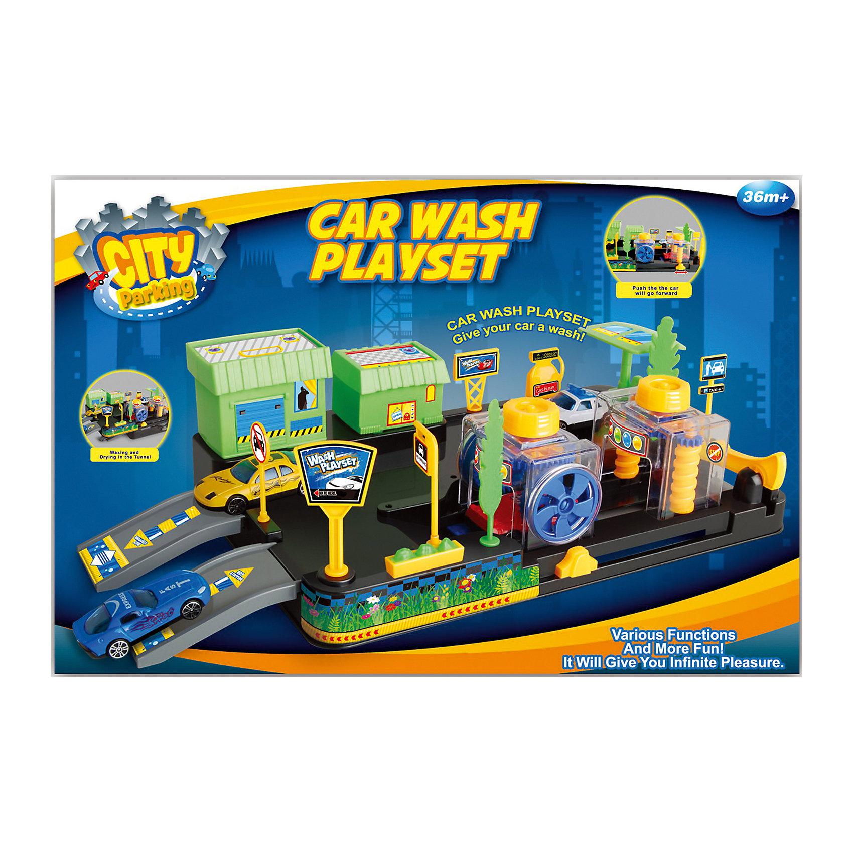 - Набор Автомойка, Dave Toy автотрек dave toy автомойка 32033