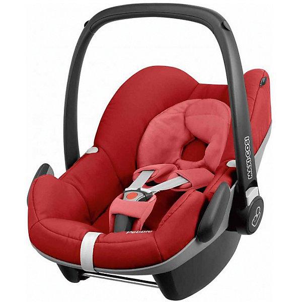 Автокресло Maxi-Cosi Pebble 0-13 кг, Red RumourГруппа 0+  (до 13 кг)<br>Надежное высокотехнологичное автокресло-переноска позволит перевозить ребенка, не беспокоясь при этом о его безопасности. Оно предназначено для предназначено для детей весом  до 13 килограмм. Такое кресло обеспечит малышу не только безопасность, но и удобство (регулируемая длина внутренних ремней и анатомическая подушка). Ребенок надежно фиксируется в кресле и ездит с комфортом.<br>Автокресло устанавливают против движения. Такое кресло дает возможность свободно путешествовать, ездить в гости и при этом  быть рядом с малышом. Конструкция - очень удобная и прочная. Изделие произведено из качественных и безопасных для малышей материалов, оно соответствуют всем современным требованиям безопасности. Оно отлично показало себя на краш-тестах.<br> <br>Дополнительная информация:<br><br>цвет: красный;<br>материал: текстиль, пластик;<br>вес ребенка:  от 0 до 13 кг;<br>вес кресла: 4 кг;<br>использование в качестве качалки;<br>анатомическая подушка;<br>внутренние ремни - трехточечные, с мягкими накладками;<br>регулировка высоты внутренних ремней;<br>дополнительная защита от боковых ударов;<br>регулировка глубины кресла в соответствии с весом ребенка;<br>ручка для переноски;<br>тент от солнца.<br><br>Автокресло Pebble 0-13 кг., Red Rumour от компании Maxi-Cosi можно купить в нашем магазине.<br>Ширина мм: 440; Глубина мм: 375; Высота мм: 720; Вес г: 4000; Возраст от месяцев: 0; Возраст до месяцев: 12; Пол: Унисекс; Возраст: Детский; SKU: 4709558;