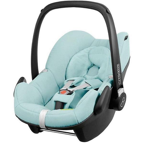 Автокресло Maxi-Cosi Pebble 0-13 кг, Blue PastelГруппа 0+  (до 13 кг)<br>Надежное высокотехнологичное автокресло-переноска позволит перевозить ребенка, не беспокоясь при этом о его безопасности. Оно предназначено для предназначено для детей весом  до 13 килограмм. Такое кресло обеспечит малышу не только безопасность, но и удобство (регулируемая длина внутренних ремней и анатомическая подушка). Ребенок надежно фиксируется в кресле и ездит с комфортом.<br>Автокресло устанавливают против движения. Такое кресло дает возможность свободно путешествовать, ездить в гости и при этом  быть рядом с малышом. Конструкция - очень удобная и прочная. Изделие произведено из качественных и безопасных для малышей материалов, оно соответствуют всем современным требованиям безопасности. Оно отлично показало себя на краш-тестах.<br> <br>Дополнительная информация:<br><br>цвет: голубой;<br>материал: текстиль, пластик;<br>вес ребенка:  от 0 до 13 кг;<br>вес кресла: 4 кг;<br>использование в качестве качалки;<br>анатомическая подушка;<br>внутренние ремни - трехточечные, с мягкими накладками;<br>регулировка высоты внутренних ремней;<br>дополнительная защита от боковых ударов;<br>регулировка глубины кресла в соответствии с весом ребенка;<br>ручка для переноски;<br>тент от солнца.<br><br>Автокресло Pebble 0-13 кг., Blue Pastel от компании Maxi-Cosi можно купить в нашем магазине.<br>Ширина мм: 445; Глубина мм: 375; Высота мм: 725; Вес г: 4000; Возраст от месяцев: 0; Возраст до месяцев: 12; Пол: Унисекс; Возраст: Детский; SKU: 4709561;
