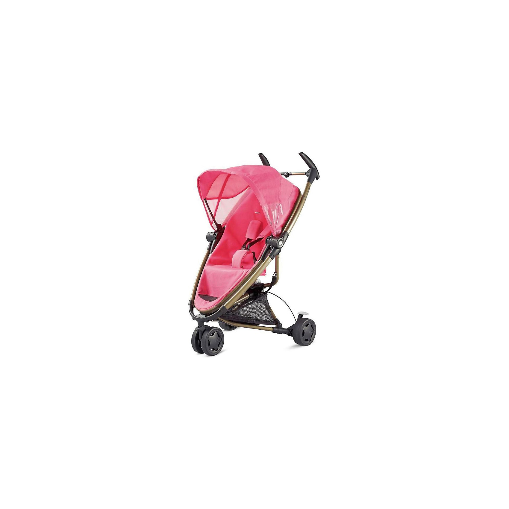 Quinny Коляска-трость Zapp Xtra, Quinny, pink precious quinny buzz xtra 2 in 1 baby stroller high landscape folding three wheeled shock absorber baby stroller bidirectional push carts