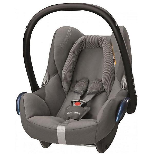 Автокресло Maxi-Cosi CabrioFix 0-13 кг, concrite greyГруппа 0+  (до 13 кг)<br>Удобное высокотехнологичное автокресло-переноска позволит перевозить ребенка, не беспокоясь при этом о его безопасности. Оно предназначено для предназначено для детей весом  до 13 килограмм. Такое кресло обеспечит малышу не только безопасность, но и удобство (тент от солнца а и анатомическая подушка). Ребенок надежно фиксируется в кресле и ездит с комфортом.<br>Автокресло устанавливают против движения. Такое кресло дает возможность свободно путешествовать, ездить в гости и при этом  быть рядом с малышом. Конструкция - очень удобная и прочная. Изделие произведено из качественных и безопасных для малышей материалов, оно соответствуют всем современным требованиям безопасности. Оно отлично показало себя на краш-тестах.<br> <br>Дополнительная информация:<br><br>цвет: серый;<br>материал: текстиль, пластик;<br>вес ребенка:  от 0 до 13 кг;<br>вес кресла: 3,5 кг;<br>съемный чехол;<br>карман для вещей;<br>анатомическая подушка;<br>внутренние ремни - трехточечные, с мягкими накладками;<br>регулировка высоты внутренних ремней;<br>регулировка наклона спинки;<br>регулировка высоты подголовника;<br>ручка для переноски;<br>тент от солнца.<br><br>Автокресло CabrioFix 0-13 кг., конкрит грей от компании Maxi-Cosi можно купить в нашем магазине.<br>Ширина мм: 445; Глубина мм: 375; Высота мм: 725; Вес г: 3300; Цвет: серый; Возраст от месяцев: 0; Возраст до месяцев: 12; Пол: Унисекс; Возраст: Детский; SKU: 4709797;