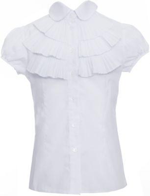 Тонкая Хлопковая Блузка Для Девочки