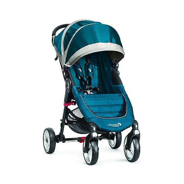 Прогулочная коляска Baby Jogger City Mini Single 4Wheel, бирюзовый-серыйПрогулочные коляски<br>Прогулочная коляска Baby Jogger City Mini Single - прекрасный вариант для детей и родителей, идеально подходит для городских прогулок и путешествий. Коляска имеет систему амортизации, передние поворотные колеса, небольшую ширину раны, что гарантирует удобство, манёвренность и проходимость. Модель легко складывается одной рукой, имеет систему автофиксации в сложенном виде, ножной тормоз. Удобное просторное сиденье эргономичной формы, глубокий капюшон с сетчатым окошком, регулируемая спинка обеспечат малышу спокойный и комфортный отдых, а пятиточечные страховочные ремни с мягкими накладками гарантируют безопасность. City Mini с легкостью заменит коляску-трость и при этом даст вам и вашему ребенку гораздо больше комфорта.<br><br>Дополнительная информация:<br><br>- Материал: алюминий, текстиль, резина, пластик.<br>- Размер: 100 x 61 x 105  см.<br>- Размер в сложенном виде: 76х61х25 см.<br>- Количество колес: 4.<br>- Тип складывания: книжка.<br>- Колеса съемные.<br>- Диаметр колес: 20 см.<br>- Ножной тормоз.<br>- Регулируемый наклон спинки (до 170 градусов).<br>- Пятиточечные ремни безопасности.<br>- Корзина для вещей.<br>- Сетчатый карман для мелочей. <br>- Глубокий капюшон с сетчатым окошком (закрывается). <br>- Система автофиксации коляски в сложенном виде.<br>- Полукруглая ручка удобной эргономичной формы.<br>- Максимальный вес ребенка: 23 кг.<br>- Вес: 7 кг. <br><br>Прогулочную коляску City Mini Single 4Wheel, Baby Jogger (Бэби Джоггер), бирюзово-серую можно купить в нашем магазине.<br><br>Ширина мм: 760<br>Глубина мм: 610<br>Высота мм: 250<br>Вес г: 8500<br>Возраст от месяцев: 6<br>Возраст до месяцев: 36<br>Пол: Унисекс<br>Возраст: Детский<br>SKU: 4711679