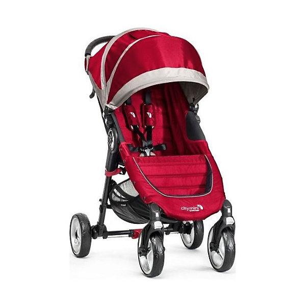 Прогулочная коляска Baby Jogger City Mini Single 4Wheel, красно-серыйПрогулочные коляски<br>Прогулочная коляска Baby Jogger City Mini Single - прекрасный вариант для детей и родителей, идеально подходит для городских прогулок и путешествий. Коляска имеет систему амортизации, передние поворотные колеса, небольшую ширину раны, что гарантирует удобство, манёвренность и проходимость. Модель легко складывается одной рукой, имеет систему автофиксации в сложенном виде, ножной тормоз. Удобное просторное сиденье эргономичной формы, глубокий капюшон с сетчатым окошком, регулируемая спинка обеспечат малышу спокойный и комфортный отдых, а пятиточечные страховочные ремни с мягкими накладками гарантируют безопасность. City Mini с легкостью заменит коляску-трость и при этом даст вам и вашему ребенку гораздо больше комфорта.<br><br>Дополнительная информация:<br><br>- Материал: алюминий, текстиль, резина, пластик.<br>- Размер: 100 x 61 x 105  см.<br>- Размер в сложенном виде: 76х61х25 см.<br>- Количество колес: 4.<br>- Тип складывания: книжка.<br>- Колеса съемные.<br>- Диаметр колес: 20 см.<br>- Ножной тормоз.<br>- Регулируемый наклон спинки (до 170 градусов).<br>- Пятиточечные ремни безопасности.<br>- Корзина для вещей.<br>- Сетчатый карман для мелочей. <br>- Глубокий капюшон с сетчатым окошком (закрывается). <br>- Система автофиксации коляски в сложенном виде.<br>- Полукруглая ручка удобной эргономичной формы.<br>- Максимальный вес ребенка: 23 кг.<br>- Вес: 7 кг. <br><br>Прогулочную коляску City Mini Single 4Wheel, Baby Jogger (Бэби Джоггер), красно-серую можно купить в нашем магазине.<br><br>Ширина мм: 760<br>Глубина мм: 610<br>Высота мм: 300<br>Вес г: 8500<br>Возраст от месяцев: 6<br>Возраст до месяцев: 36<br>Пол: Унисекс<br>Возраст: Детский<br>SKU: 4711684