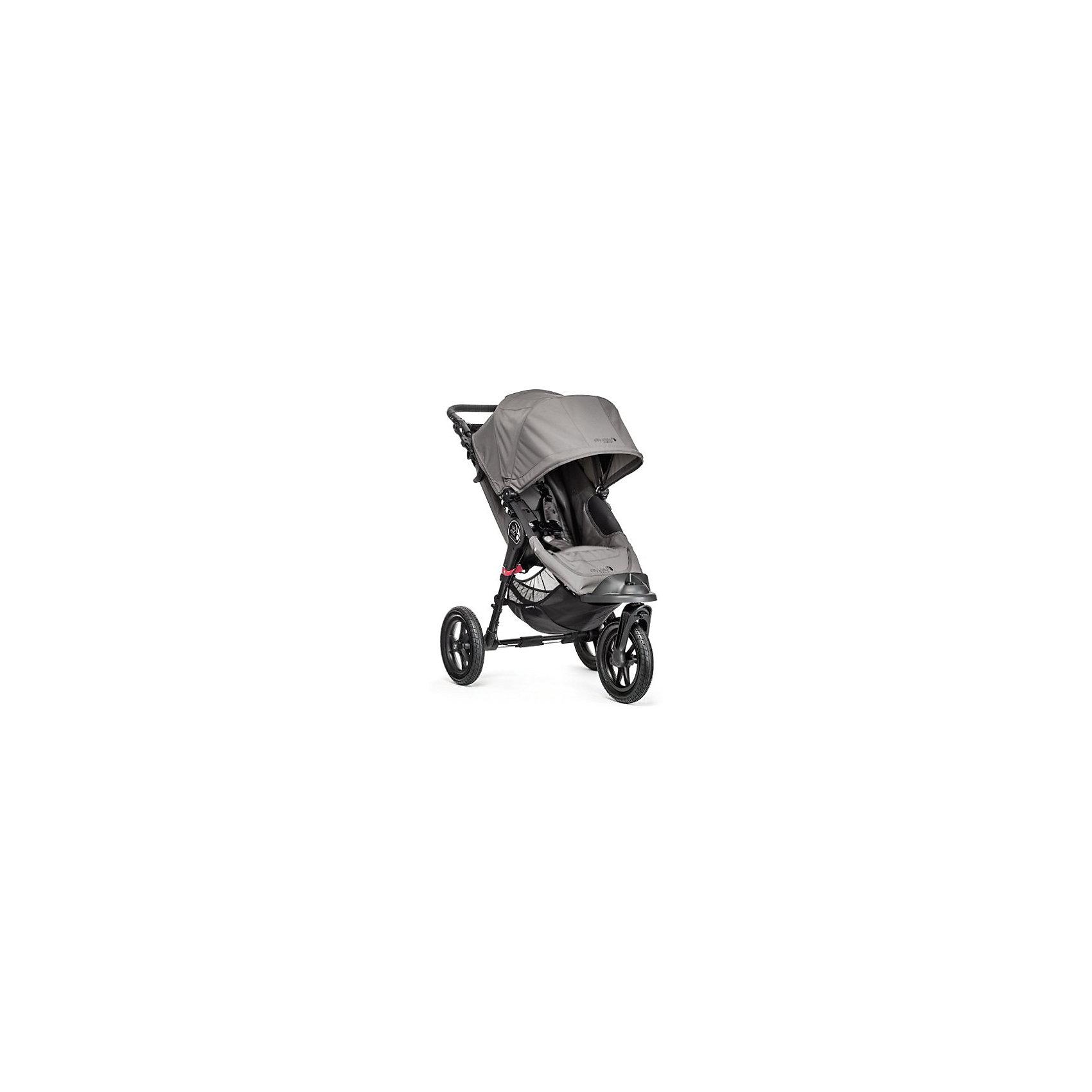 Baby Jogger Прогулочная коляска City Elite Single, Baby Jogger, серый прогулочная коляска cool baby kdd 6699gb t fuchsia light grey