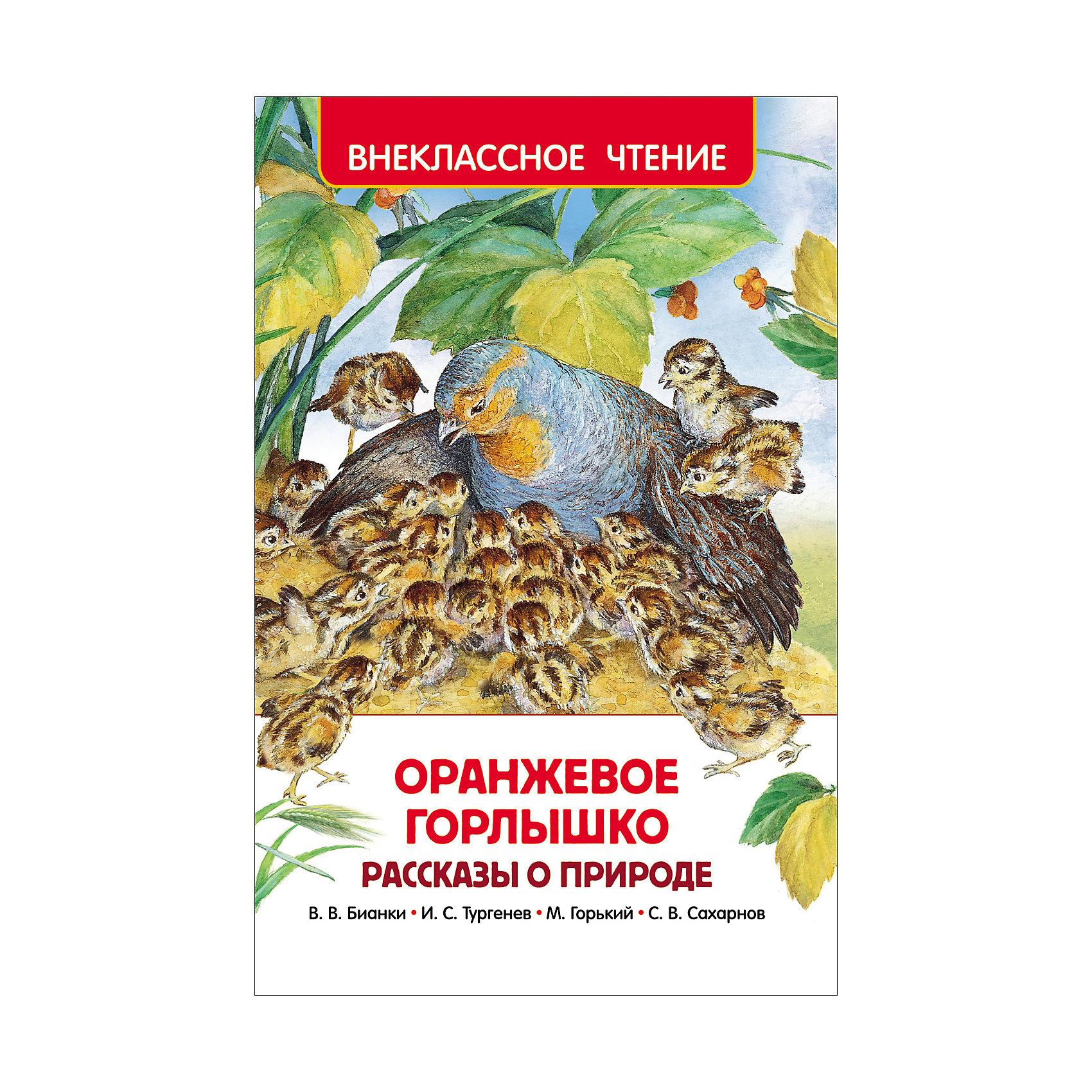 Росмэн Сборник рассказов о природе Оранжевое горлышко, Внеклассное чтение