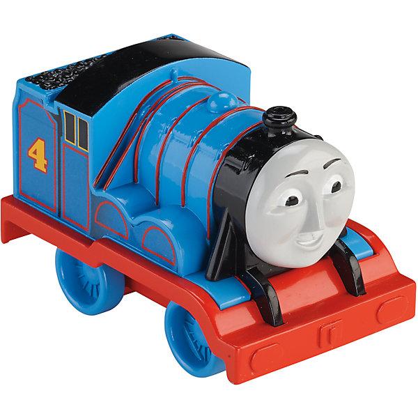 Веселые друзья-паровозики, Томас и его друзьяЖелезные дороги<br>Веселые друзья-паровозики, Томас и его друзья – это паровозик привлечет внимание вашего малыша и не позволит ему скучать.<br>Маленький, свободно перемещающийся паровозик Гордон выполнен из пластика в виде персонажа популярного мультсериала Томас и его друзья. Гордон - голубой паровозик под номером 4. Он самый серьезный из всей команды. Паровозик можно катать по самым разным поверхностям, т.к. у него гладкие колеса. Маленькие паровозики удобны и идеально подходят даже для самых маленьких! Игрушки можно толкать перед собой, что очень понравиться любому малышу! В продаже имеются пять персонажей серии «Томас и его друзья»: Томас, Перси, Гарольд, Дизель и Джеймс.<br><br>Дополнительная информация:<br><br>- Размер паровозика: 5х10х7 см.<br>- Материал: пластик<br><br>Паровозик Гордон серии Веселые друзья-паровозики, Томас и его друзья можно купить в нашем интернет-магазине.<br><br>Ширина мм: 310<br>Глубина мм: 305<br>Высота мм: 100<br>Вес г: 106<br>Возраст от месяцев: 18<br>Возраст до месяцев: 36<br>Пол: Мужской<br>Возраст: Детский<br>SKU: 4713580
