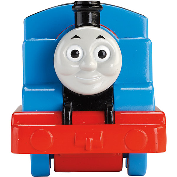 Веселые друзья-паровозики, Томас и его друзьяЖелезные дороги<br>Веселые друзья-паровозики, Томас и его друзья – это паровозик привлечет внимание вашего малыша и не позволит ему скучать.<br>Маленький, свободно перемещающийся паровозик Томас выполнен из пластика в виде главного персонажа популярного мультсериала Томас и его друзья. Голубой паровозик Томас самый оптимистичный и жизнерадостный паровоз Содора. Паровозик можно катать по самым разным поверхностям, т.к. у него гладкие колеса. Маленькие паровозики удобны и идеально подходят даже для самых маленьких! Игрушки можно толкать перед собой, что очень понравиться любому малышу! В продаже имеются пять персонажей серии «Томас и его друзья»: Перси, Гарольд, Дизель, Гордон и Джеймс.<br><br>Дополнительная информация:<br><br>- Размер паровозика: 6,3 x 5,7 x 9,3 см.<br>- Материал: пластик<br><br>Паровозик Томас серии Веселые друзья-паровозики, Томас и его друзья можно купить в нашем интернет-магазине.<br><br>Ширина мм: 310<br>Глубина мм: 305<br>Высота мм: 100<br>Вес г: 106<br>Возраст от месяцев: 18<br>Возраст до месяцев: 36<br>Пол: Мужской<br>Возраст: Детский<br>SKU: 4713582