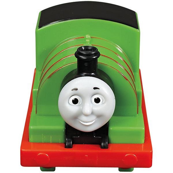 Веселые друзья-паровозики, Томас и его друзьяТомас и его друзья<br>Веселые друзья-паровозики, Томас и его друзья – это паровозик привлечет внимание вашего малыша и не позволит ему скучать.<br>Маленький, свободно перемещающийся паровозик Перси выполнен из пластика в виде персонажа популярного мультсериала Томас и его друзья. Перси зелёный паровозик с номером 6. Он невероятно невезучий, но, несмотря, на это, он всегда старается сделать все возможное и учиться на своих ошибках. Паровозик можно катать по самым разным поверхностям, т.к. у него гладкие колеса. Маленькие паровозики удобны и идеально подходят даже для самых маленьких! Игрушки можно толкать перед собой, что очень понравиться любому малышу! В продаже имеются пять персонажей серии «Томас и его друзья»: Томас, Гарольд, Дизель, Гордон и Джеймс.<br><br>Дополнительная информация:<br><br>- Размер паровозика: 6,3 x 5,7 x 9,3 см.<br>- Материал: пластик<br><br>Паровозик Перси серии Веселые друзья-паровозики, Томас и его друзья можно купить в нашем интернет-магазине.<br>Ширина мм: 310; Глубина мм: 305; Высота мм: 100; Вес г: 106; Возраст от месяцев: 18; Возраст до месяцев: 36; Пол: Мужской; Возраст: Детский; SKU: 4713583;