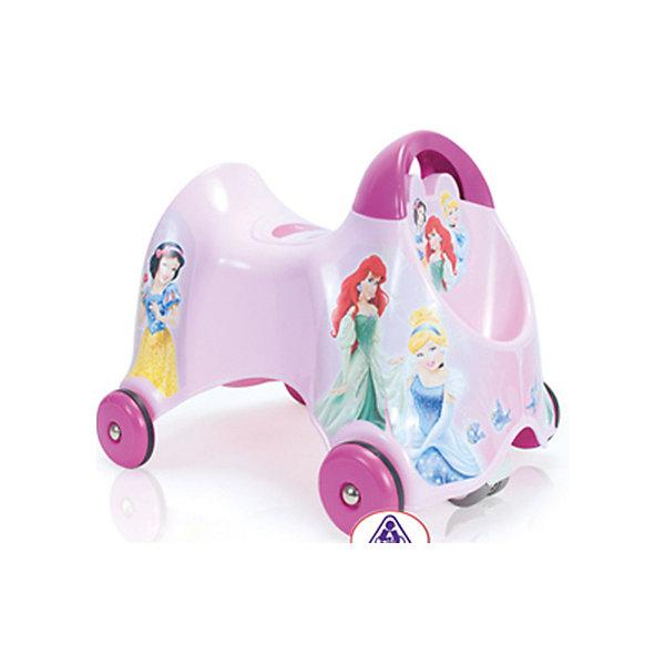 Каталка Принцессы Дисней, InjusaМашинки-каталки<br>Эта каталка разработана специально для самых маленьких. Она поможет малышам делать свои первые шаги! С помощью каталки ребенок будет активнее изучать окружающий мир и развить чувство равновесия, координацию и моторику, учиться правильно использовать пространство. Благодаря четырем колесам, малыш сможет двигаться вперед-назад, а пятое двойное колесо поможет ребенку самому учиться поворачивать. Скорость движения зависит от движения ног ребенка.<br>Каталка выполнена в яркой расцветке, она произведена из высококачественных материалов. Эти материалы безопасны для ребенка. На каталке есть небольшой багажник. Она очень легко моется и весит всего один килограмм. Каталка украшена изображениями принцесс Диснея, которых так любят девочки.<br><br>Дополнительная информация:<br><br>цвет: розовый;<br>материал: пластик;<br>размер: 30*42*31 см;<br>вес: 1 кг.<br><br>Каталку Принцессы Дисней от марки Injusa можно купить в нашем магазине.<br><br>Ширина мм: 300<br>Глубина мм: 420<br>Высота мм: 310<br>Вес г: 8450<br>Возраст от месяцев: 180<br>Возраст до месяцев: 36<br>Пол: Женский<br>Возраст: Детский<br>SKU: 4715379