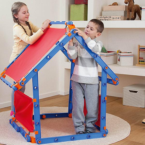 Конструктор MEGADO 7 в 1, KETERПластмассовые конструкторы<br>О таком  доме-конструкторе мечтает любой ребенок! Это - не только возможность создать себе самому личное пространство, это способ развить способности малыша! С помощью такого конструктора ребенок будет развивать воображение, пространственное мышление, учиться правильно использовать пространство, улучшать мелкую моторику и развивать творческие способности.<br>Конструктор выполнен в яркой расцветке, он произведен из высококачественных материалов. Эти материалы безопасны для ребенка. В конструктор входит 100 деталей, они легкие, крупные, с ними справятся малыши от четырех дет.<br><br>Дополнительная информация:<br><br>цвет: разноцветный;<br>легкая модульная конструкция;<br>в комплекте - 100 деталей;<br>высококачественные материалы (текстиль, пластик).<br><br>Конструктор MEGADO 7 в 1 от марки KETER можно купить в нашем магазине.<br><br>Ширина мм: 725<br>Глубина мм: 215<br>Высота мм: 180<br>Вес г: 5260<br>Возраст от месяцев: 48<br>Возраст до месяцев: 96<br>Пол: Унисекс<br>Возраст: Детский<br>SKU: 4715384