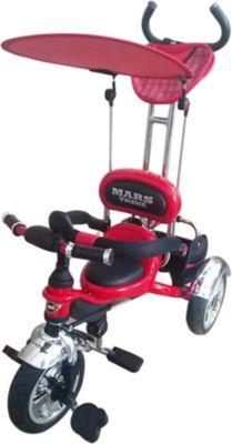 - Велосипед Трехколесный, Красный, Mars Trike