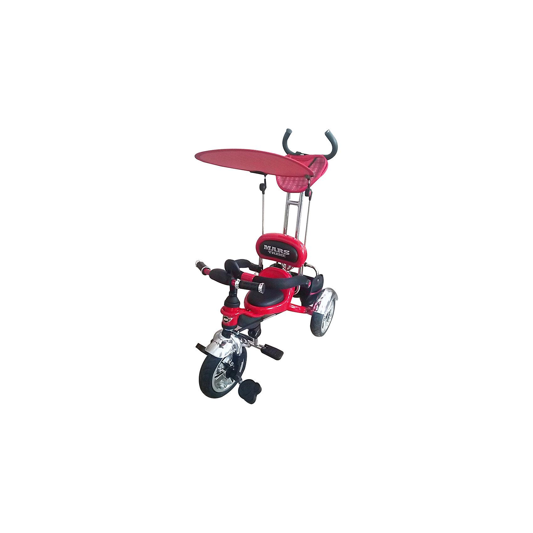Велосипед трехколесный, красный, MARS TRIKE от myToys