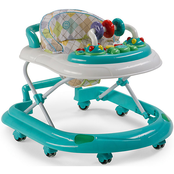 Ходунки Smiley V2, Happy Baby, голубойХодунки<br>Классические ходунки SMILEY V2 развивают координацию движений и помогут ребёнку научиться держать равновесие. <br><br>Мягкие цвета ходунков привлекут внимание ребенка. Игровая панель со звуковыми эффектами и игрушками поможет развить у малыша зрение, слух, хватательный рефлекс и мелкую моторику. Мягкое, удобное сиденье легко регулируется в 3-х положениях в зависимости от роста. <br><br>Ходунки SMILEY V2 оборудованы специальными силиконовыми колесами, которые не поцарапают напольное покрытие. Игровая панель работает от 2-х пальчиковых батареек (тип АА).<br><br>Дополнительная информация::<br><br>- Максимальный вес ребенка: 12 кг<br>- Вес ходунков: 3,5 кг<br>- Габариты в сложенном виде ДхШхВ: 70х59,5х30 см<br>- Габариты в разложенном виде ДхШхВ: 70х59,5х54 см<br>- Регулируемое сиденье: да<br>- Регулируются по высоте, 3 положения<br>- Развивают координацию движений<br>- Учат ребенка держать равновесие<br>- На задней части ходунков расположена ручка, которая позволяет использовать их в качестве каталки<br>- Силиконовые колеса, 8 шт<br>- Съемная игровая панель со звуковыми и световыми эффектами: <br>   12 мелодий<br>- Развивающие игрушки механически вращаются<br>- Для работы игровой панели необходимо 2 батарейки типа АА<br><br>Ходунки Smiley V2, Happy Baby, голубой можно купить в нашем магазине.<br><br>Ширина мм: 300<br>Глубина мм: 595<br>Высота мм: 700<br>Вес г: 17000<br>Цвет: голубой<br>Возраст от месяцев: 7<br>Возраст до месяцев: 15<br>Пол: Унисекс<br>Возраст: Детский<br>SKU: 4715784